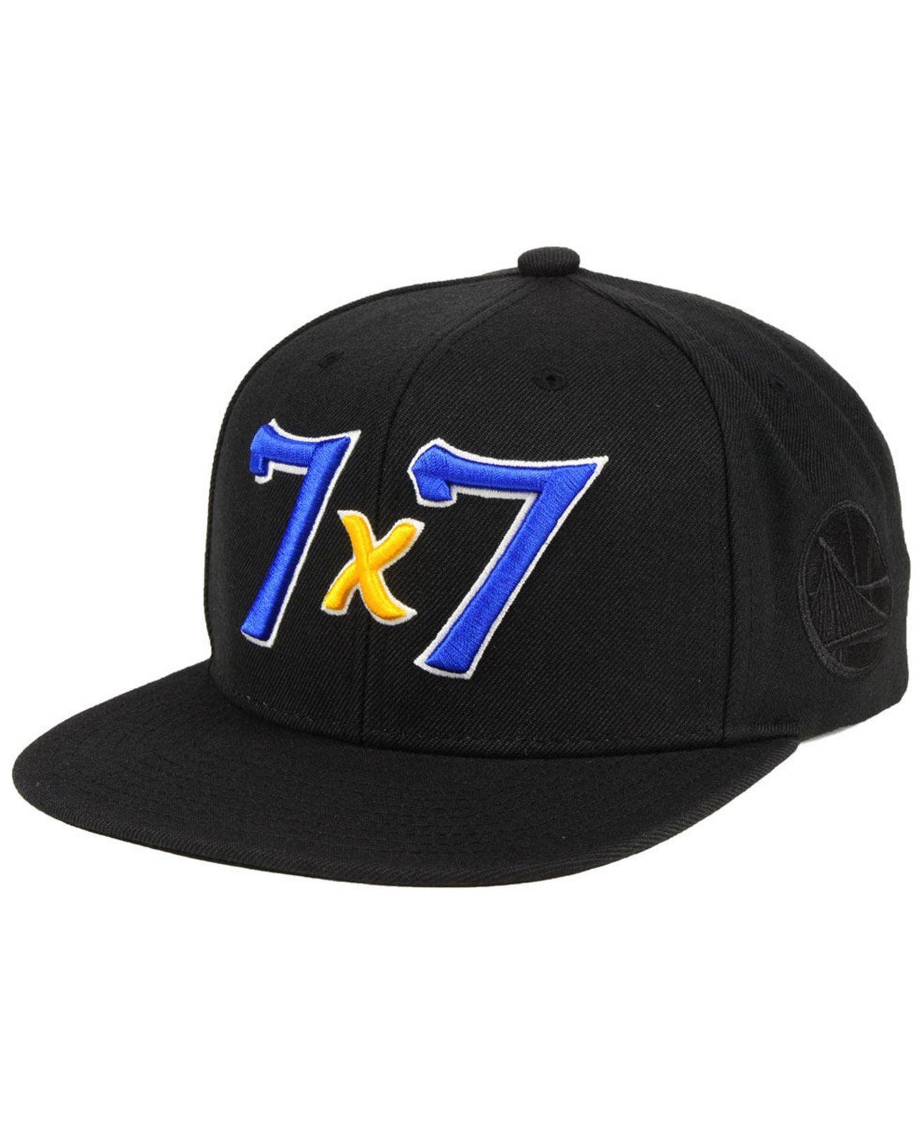 Lyst - Mitchell   Ness Golden State Warriors Town Snapback Cap in ... 6853d1bffb04