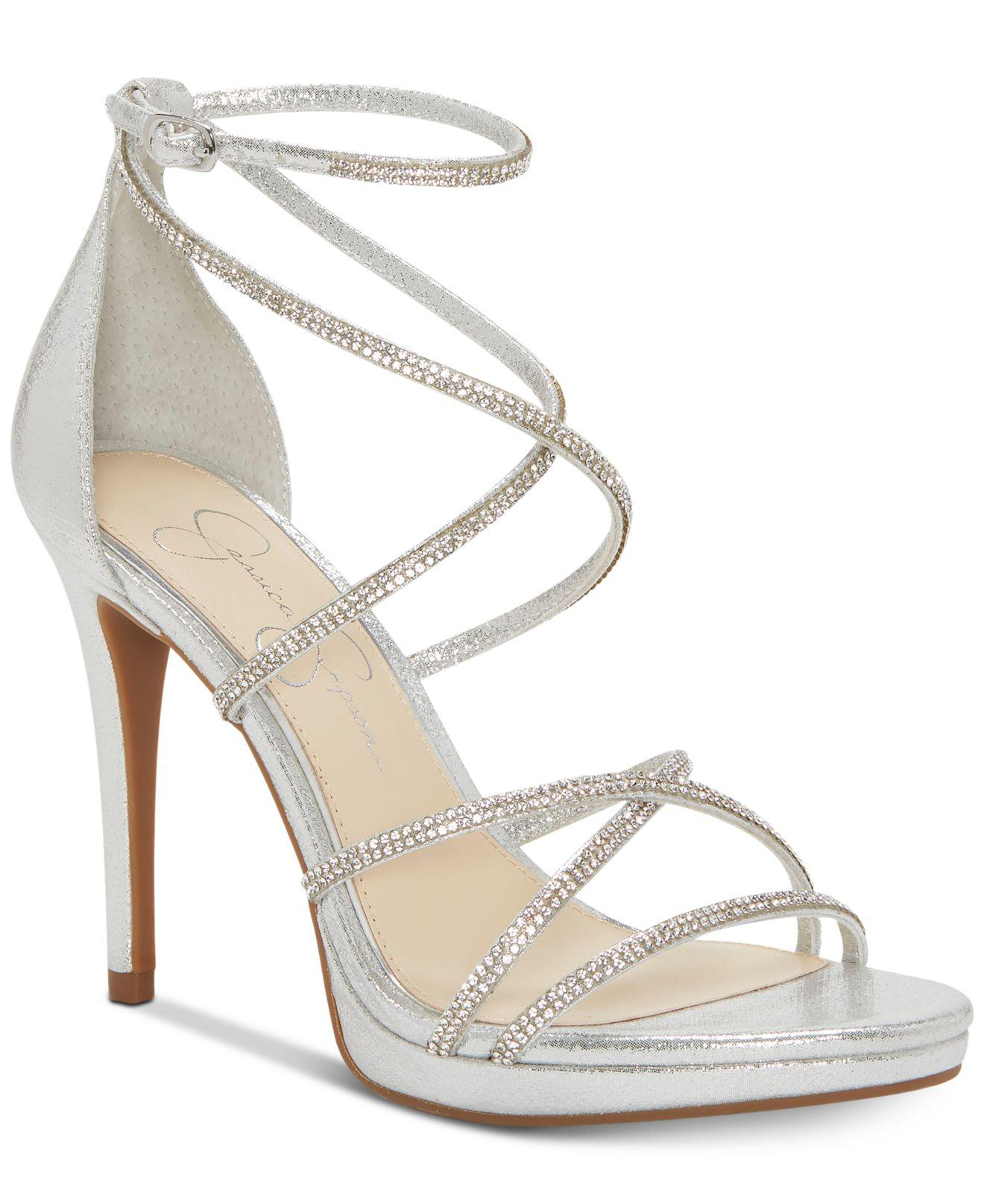 18c21199ad6 Jessica Simpson. Women s Jaeya Strappy Dress Sandals