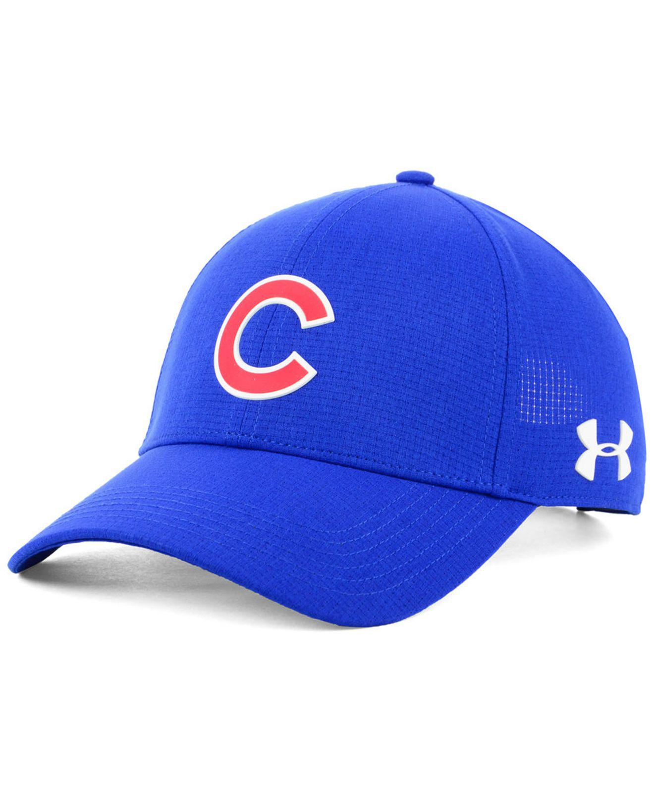 2e0a01ed9 Lyst - Under Armour Chicago Cubs Driver Cap in Blue