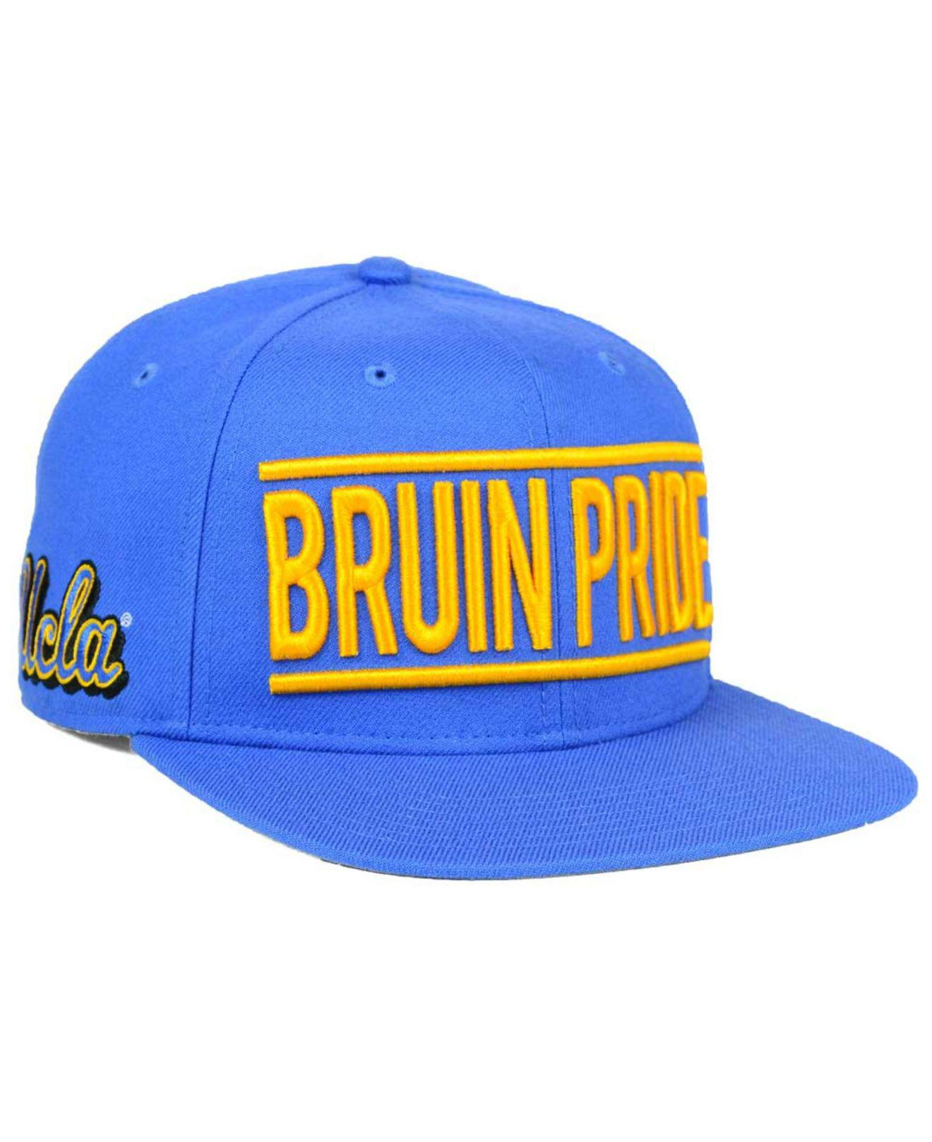 sports shoes 3766e e23e2 ... authentic lyst 47 brand ucla bruins on track snapback cap in blue for  men 253f4 da075