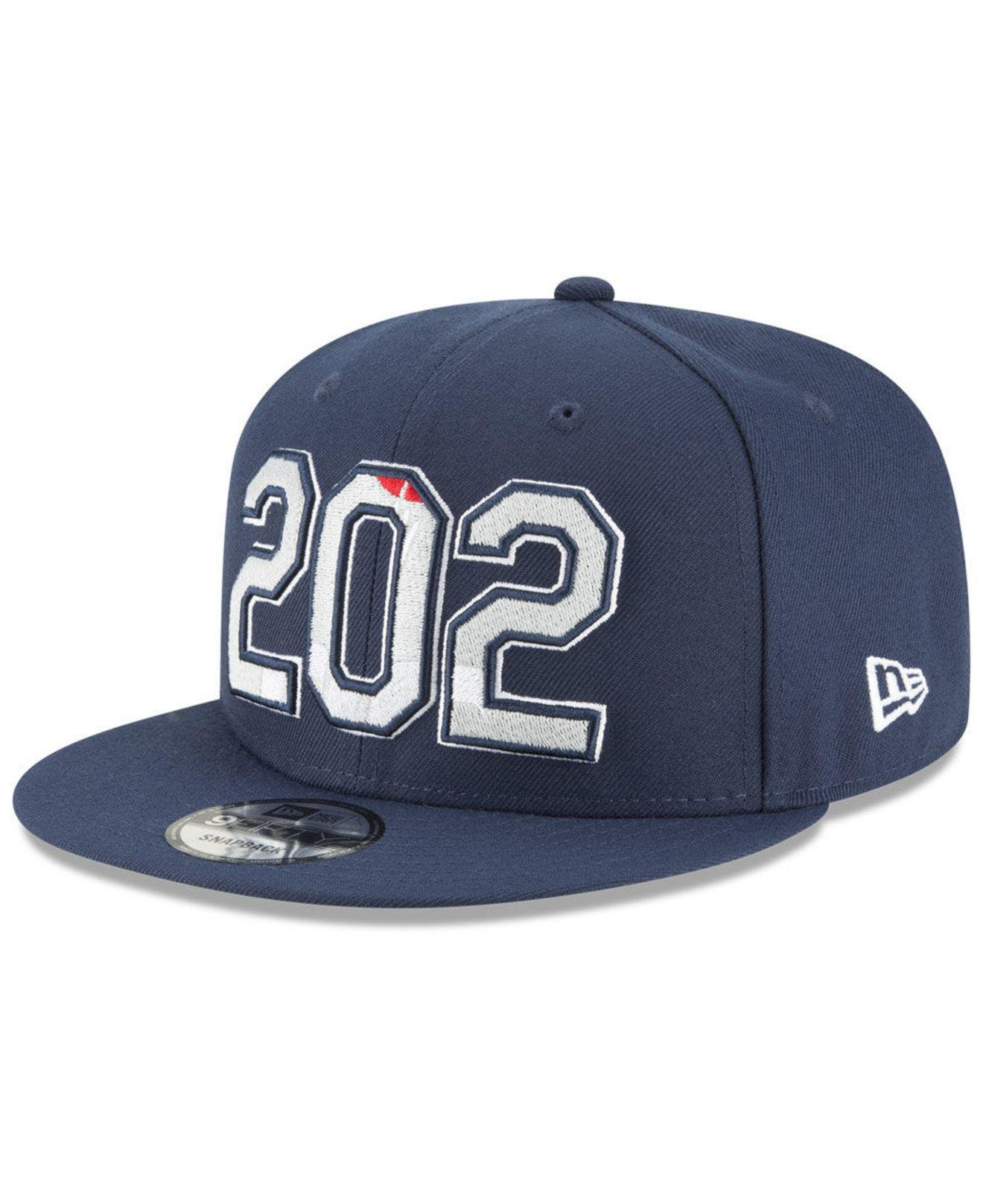 24bf023ef1324 Lyst - KTZ Washington Wizards Area Code 9fifty Snapback Cap in Blue ...