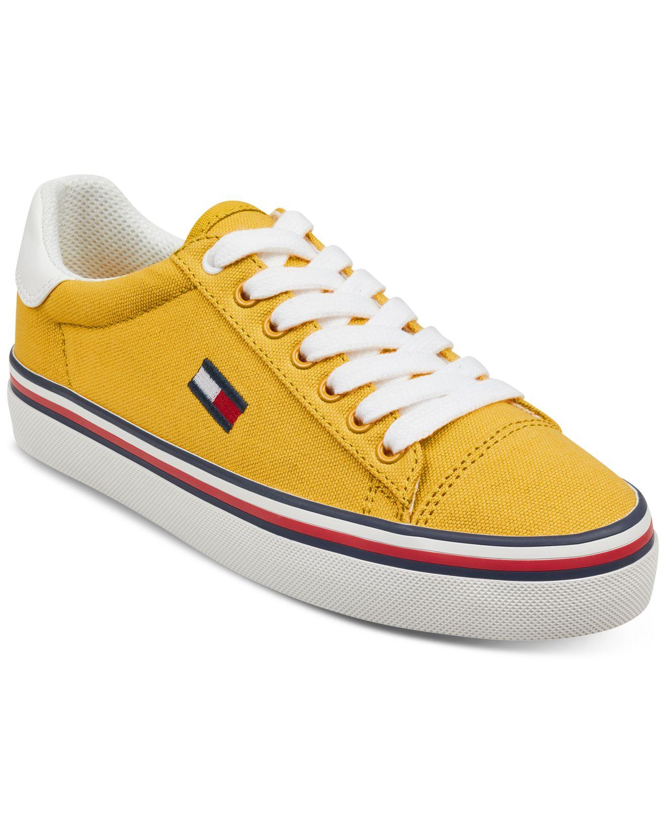 ae4f6a5a0f0a Lyst - Tommy Hilfiger Fressian Sneakers in Yellow