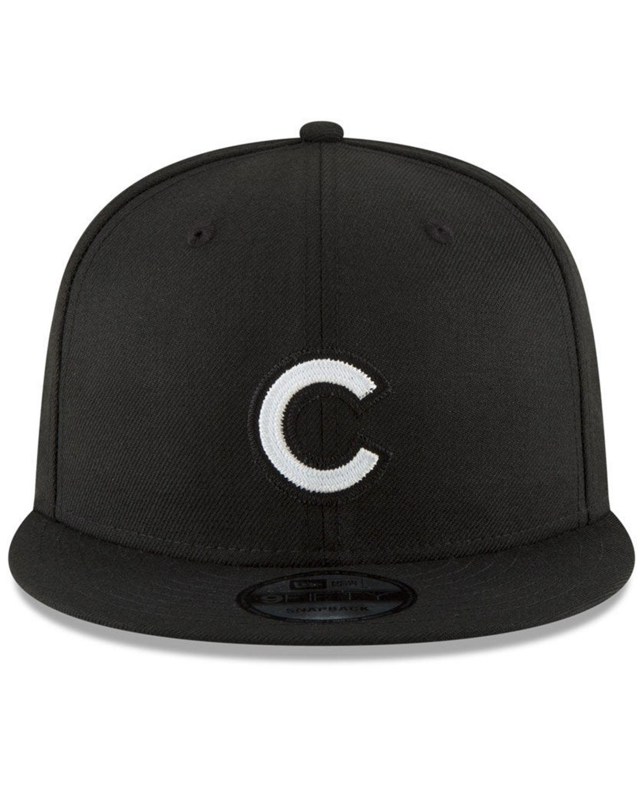 Lyst - KTZ Chicago Cubs Jersey Hook 9fifty Snapback Cap in Black for Men ceb282e69c3