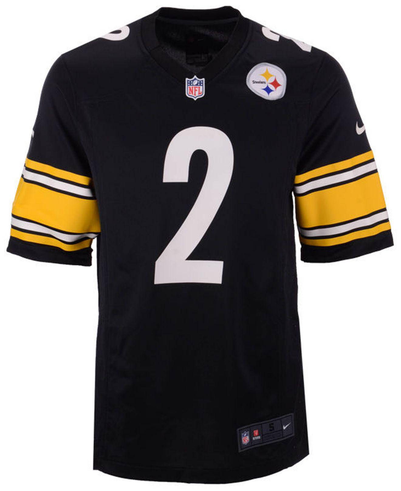 Lyst - Nike Mason Rudolph Pittsburgh Steelers Game Jersey in Black for Men 58866ce99