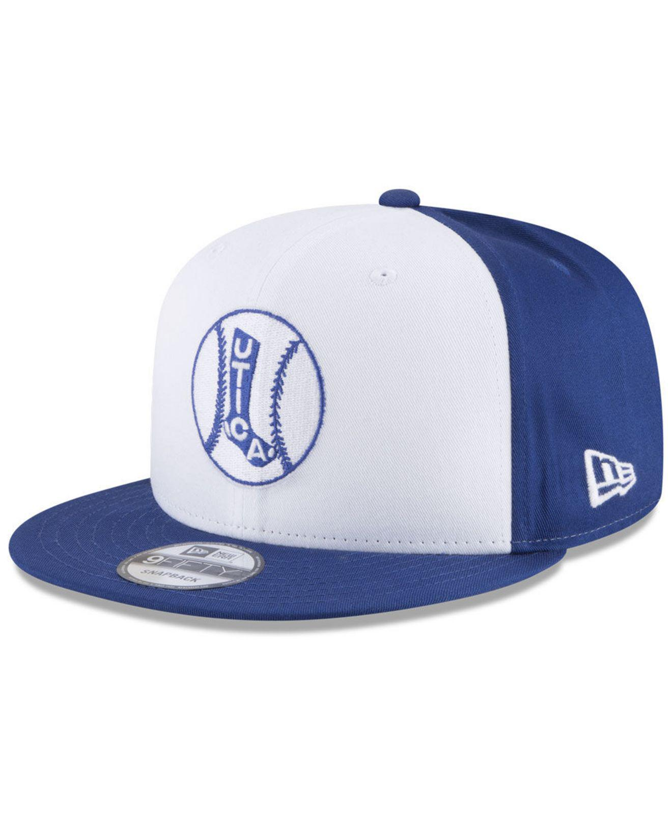 cheaper e955d c80a8 KTZ Utica Blue Sox Hometown 9fifty Snapback Cap in Blue for Men - Lyst