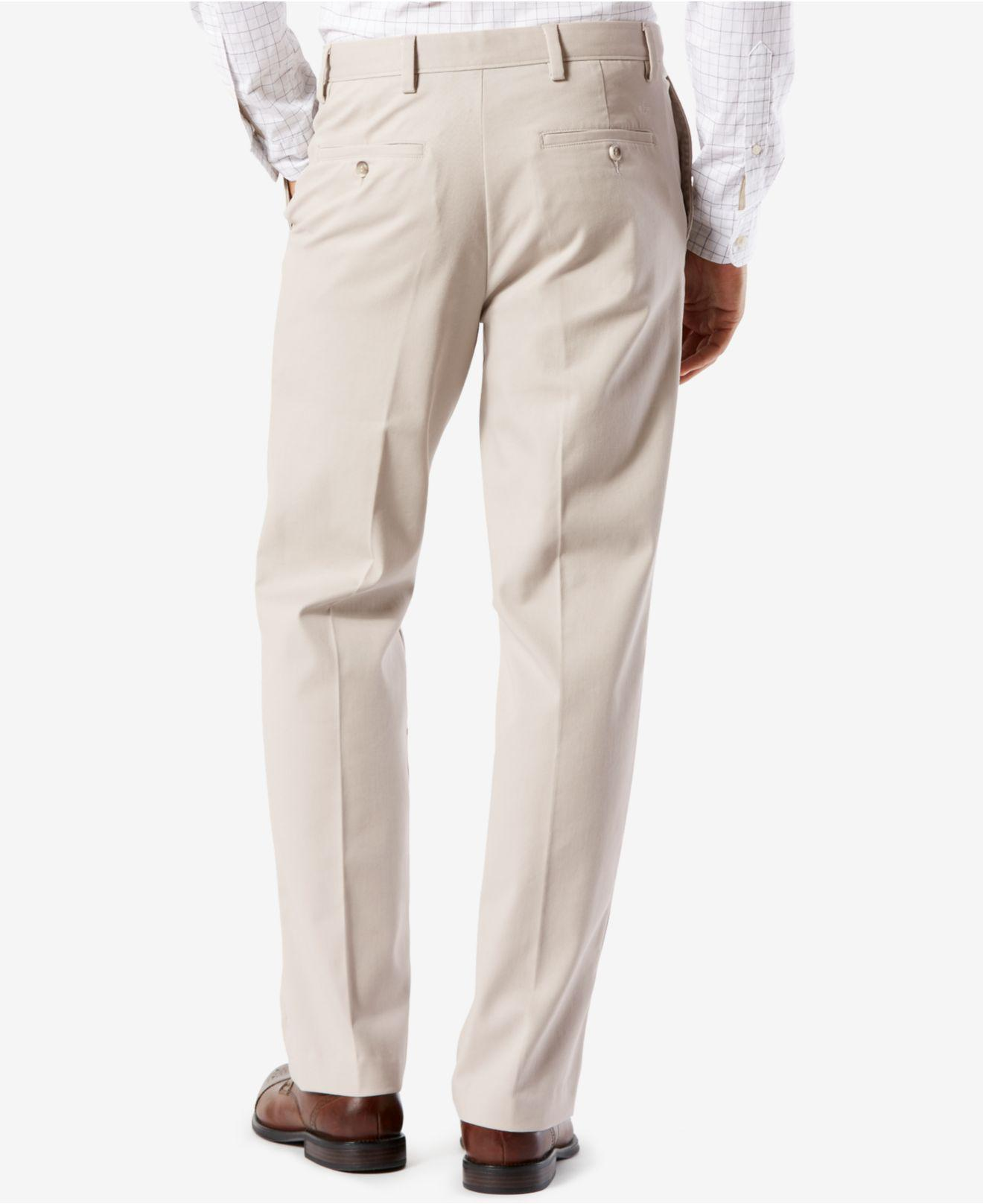 ffbb54f9a6 Lyst - Dockers Easy Classic Fit Khaki Stretch Pants in Natural for Men