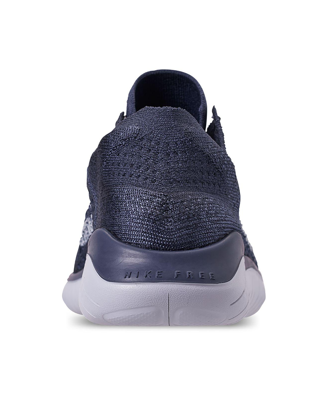 ff82bfc39f8a Lyst - Nike Free Rn Flyknit 2018 Running Sneakers From Finish Line in Blue  for Men