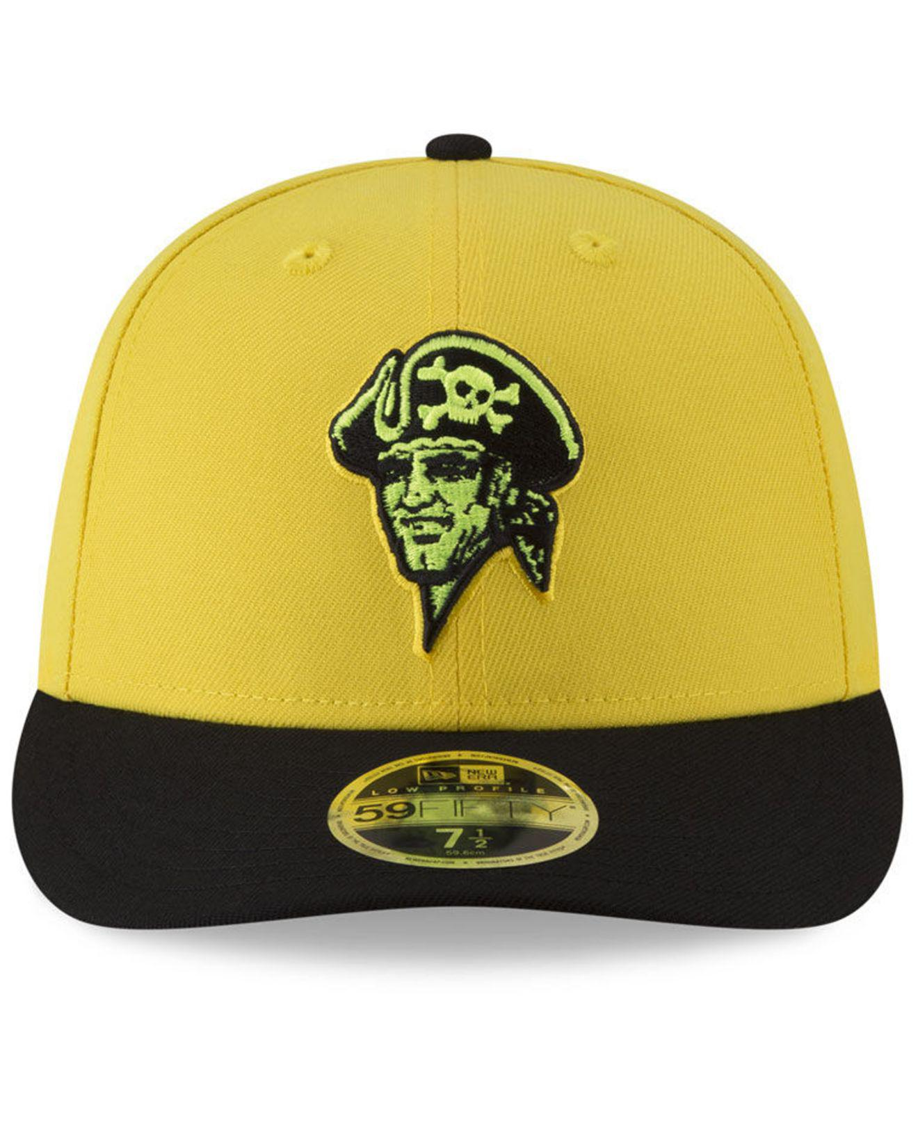 Lyst - Ktz Pittsburgh Pirates Players Weekend Low Profile 59fifty Fitted Cap  in Yellow for Men b3765ab1cefd