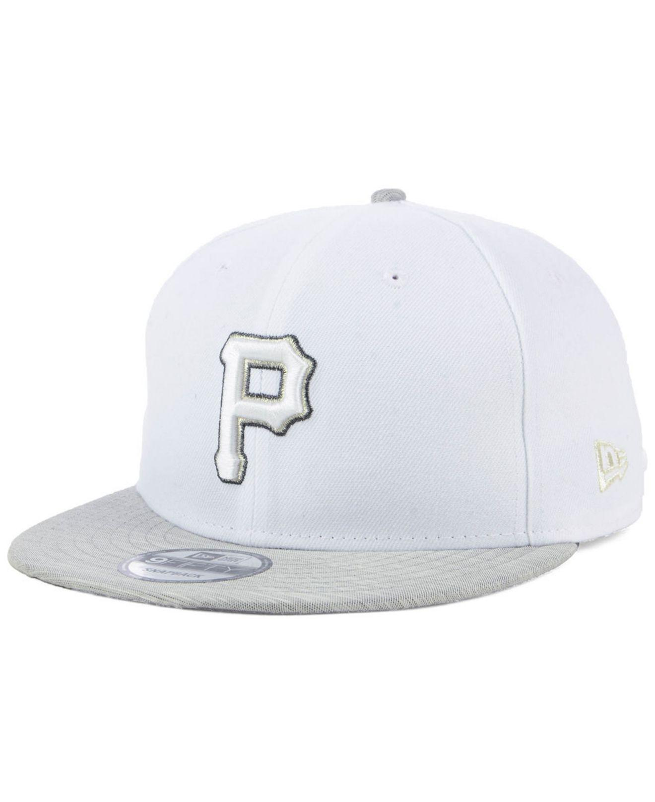 huge discount 928b7 95413 Lyst - KTZ Pittsburgh Pirates Bright Heather 9fifty Snapback Cap in ...