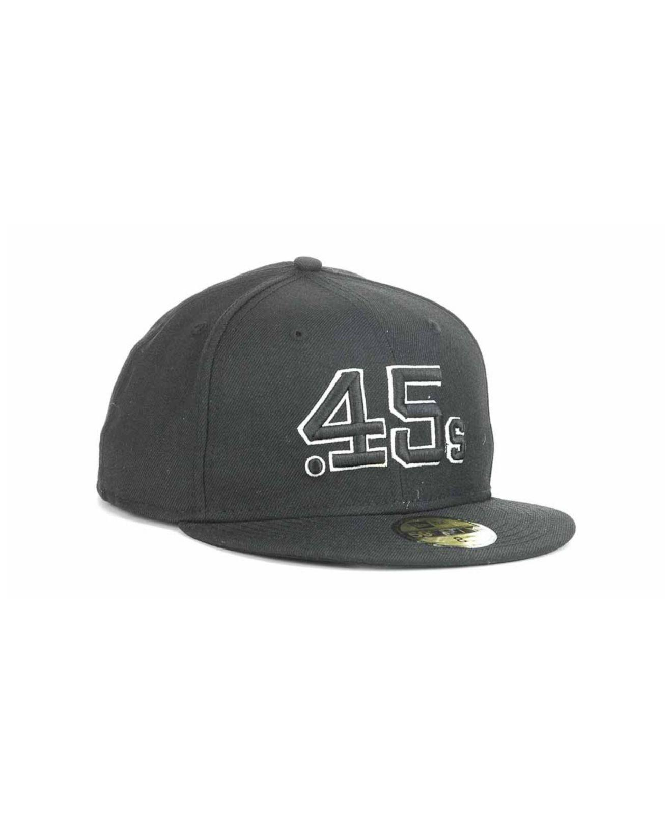 low priced 858ca 3869e Lyst - KTZ Houston Colt .45s Fashion 59fifty Cap in Black for Men