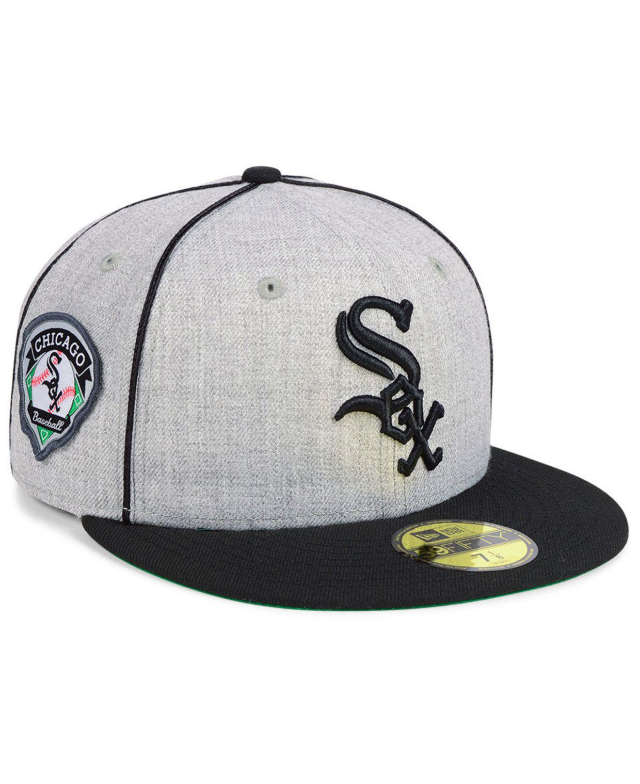 4d879b66291 Lyst - KTZ Chicago White Sox Stache 59fifty Fitted Cap for Men