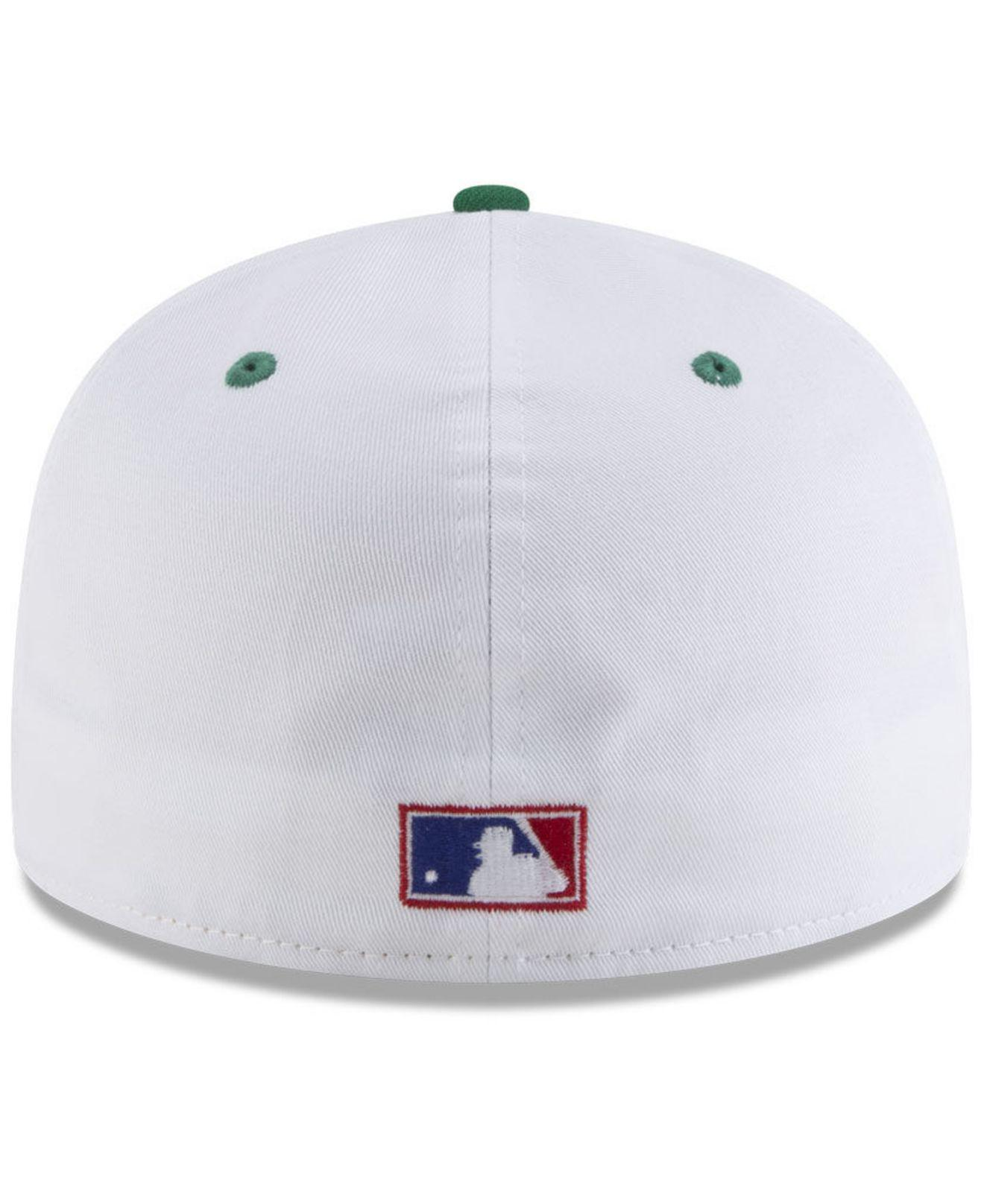uk availability 1353c 703b0 ... italy san diego padres retro diamond 59fifty fitted cap for men lyst.  view fullscreen 68932