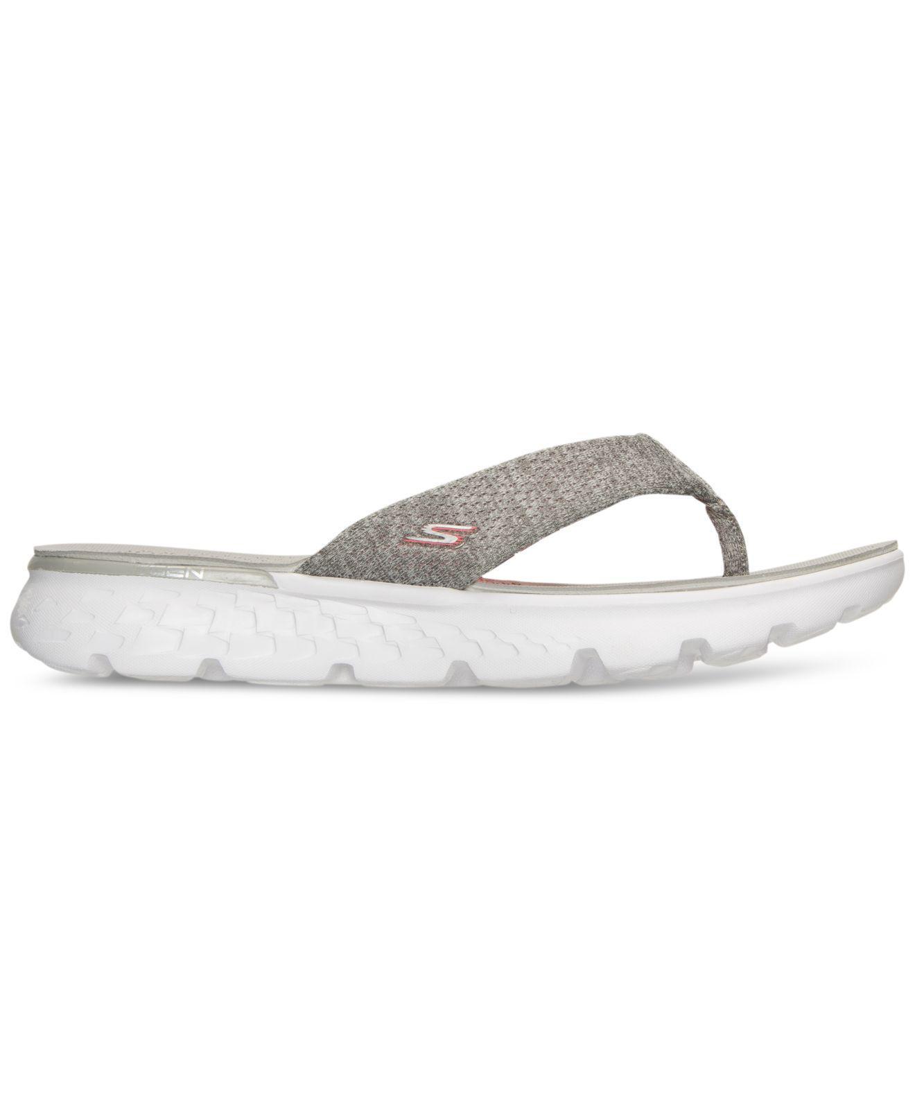 a98fdde5d6 Lyst - Skechers Women's On The Go - Vivacity Flip Flop Thong Sandals ...