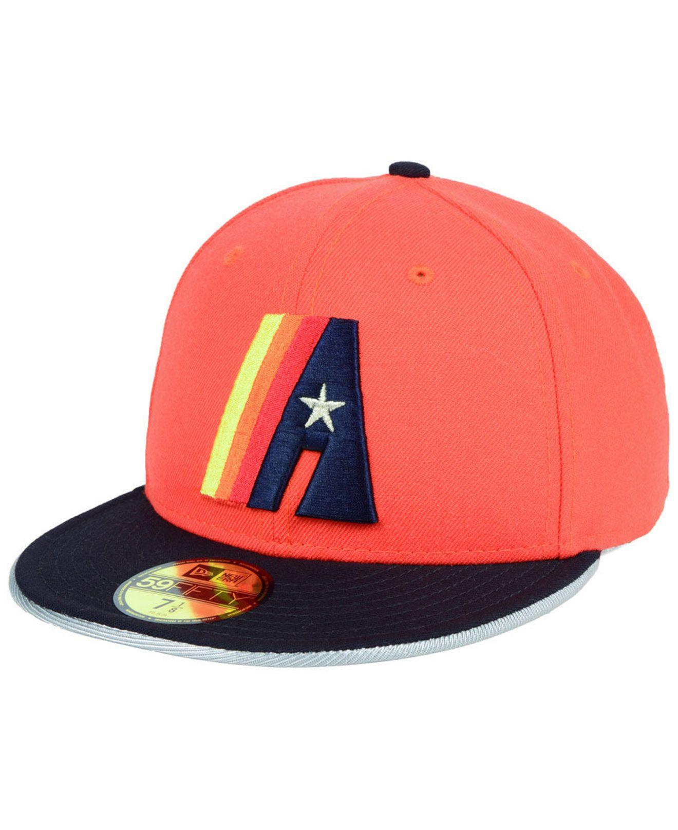 best website e1de2 e21b1 KTZ Houston Astros Turn To The Future 59fifty Fitted Cap for Men - Lyst
