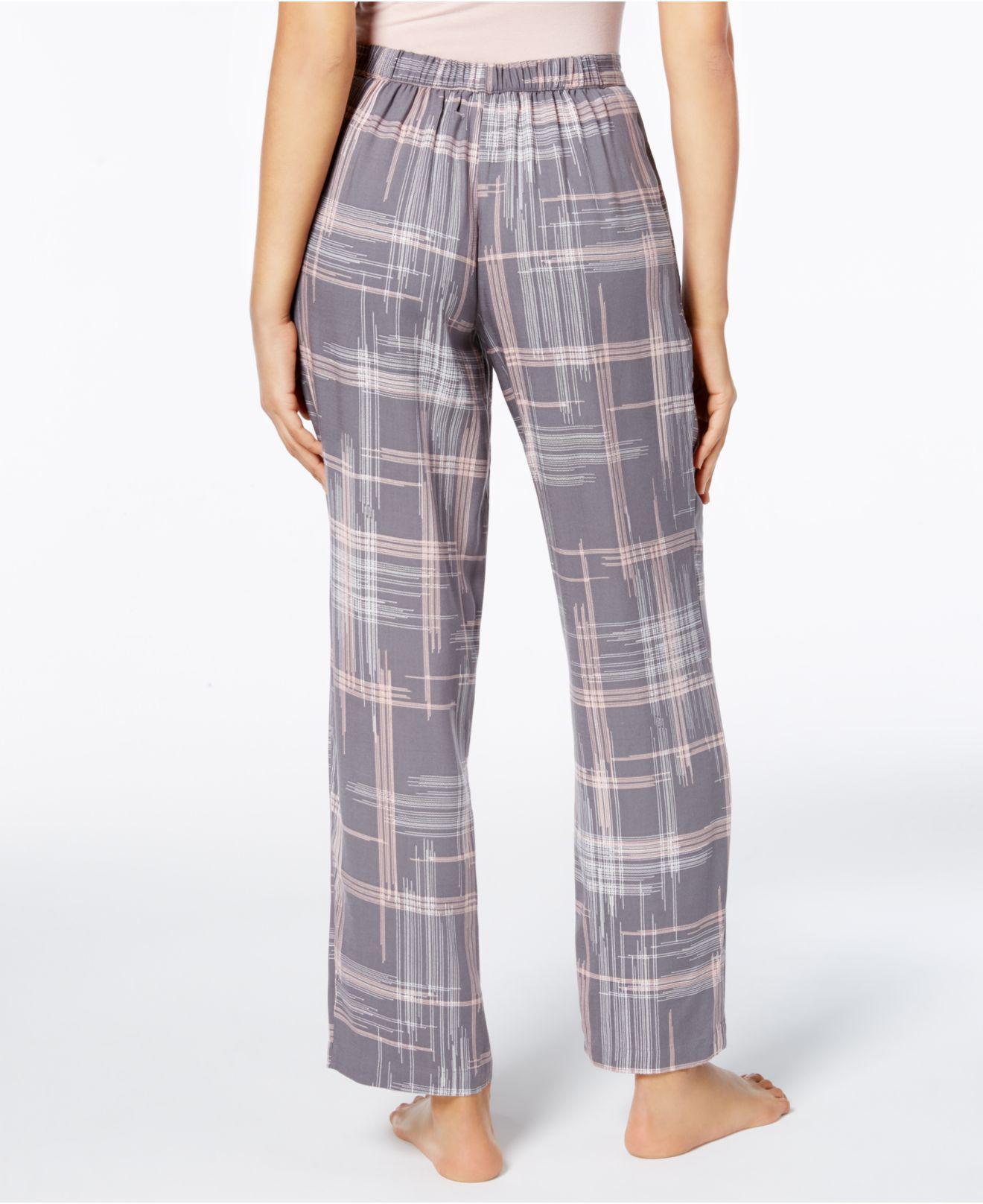 608a57ed76e3 Lyst - Alfani Printed Pajama Pants in Gray