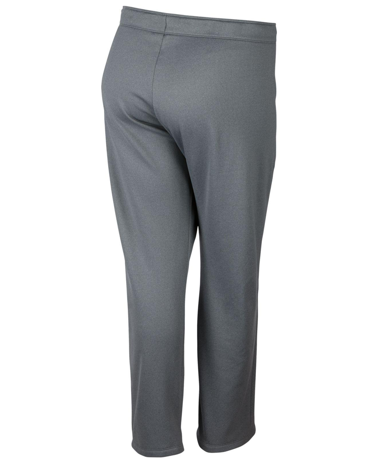 80a311671cd Lyst - Nike Plus Size Therma Training Pants in Gray