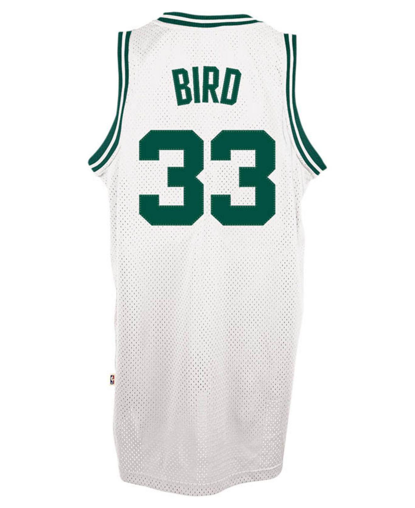 adidas. Green Men s Larry Bird Boston Celtics Retired Player Swingman Jersey 2f36f57ed
