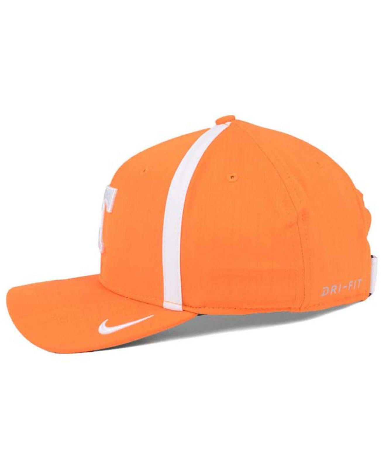 c08d776b88ffa ... official lyst nike aerobill sideline coaches cap in orange for men  291e9 978b9