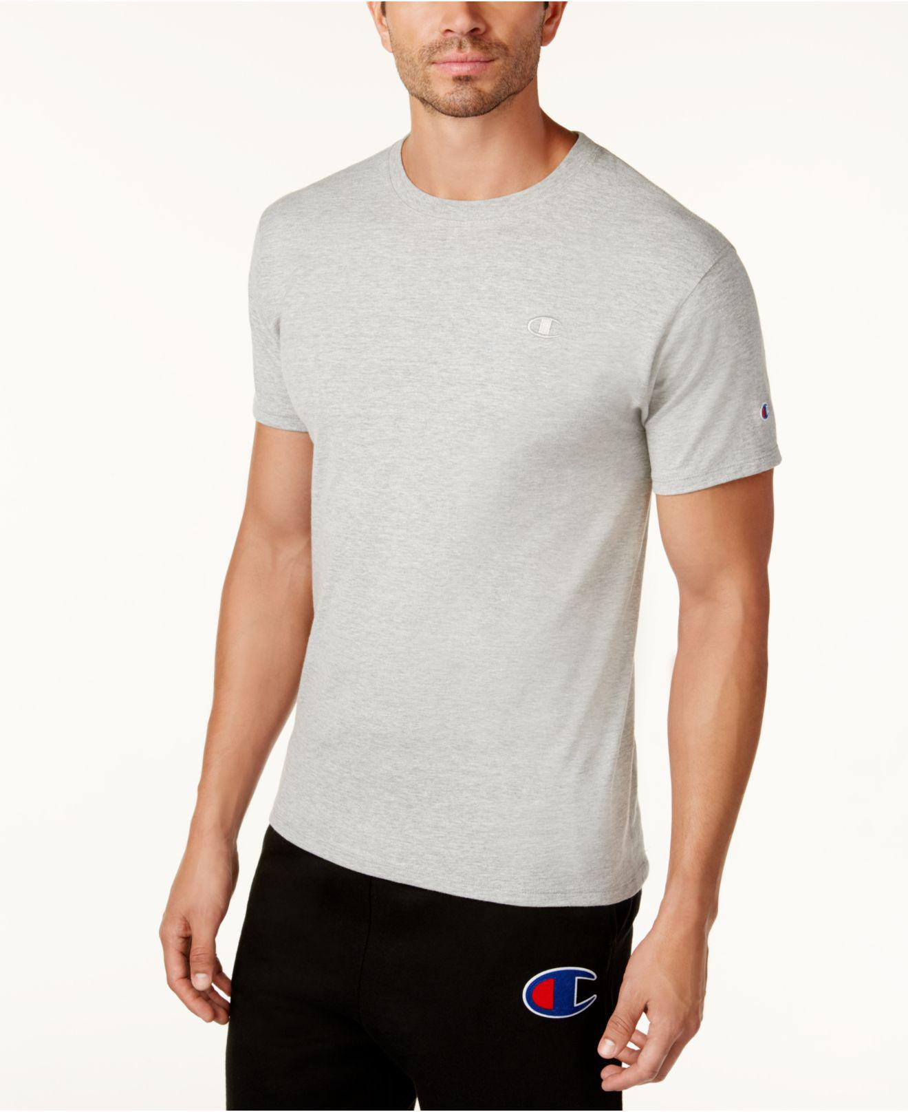 a54c4ffef2ae Lyst - Champion Men's Cotton Jersey T-shirt in Gray for Men