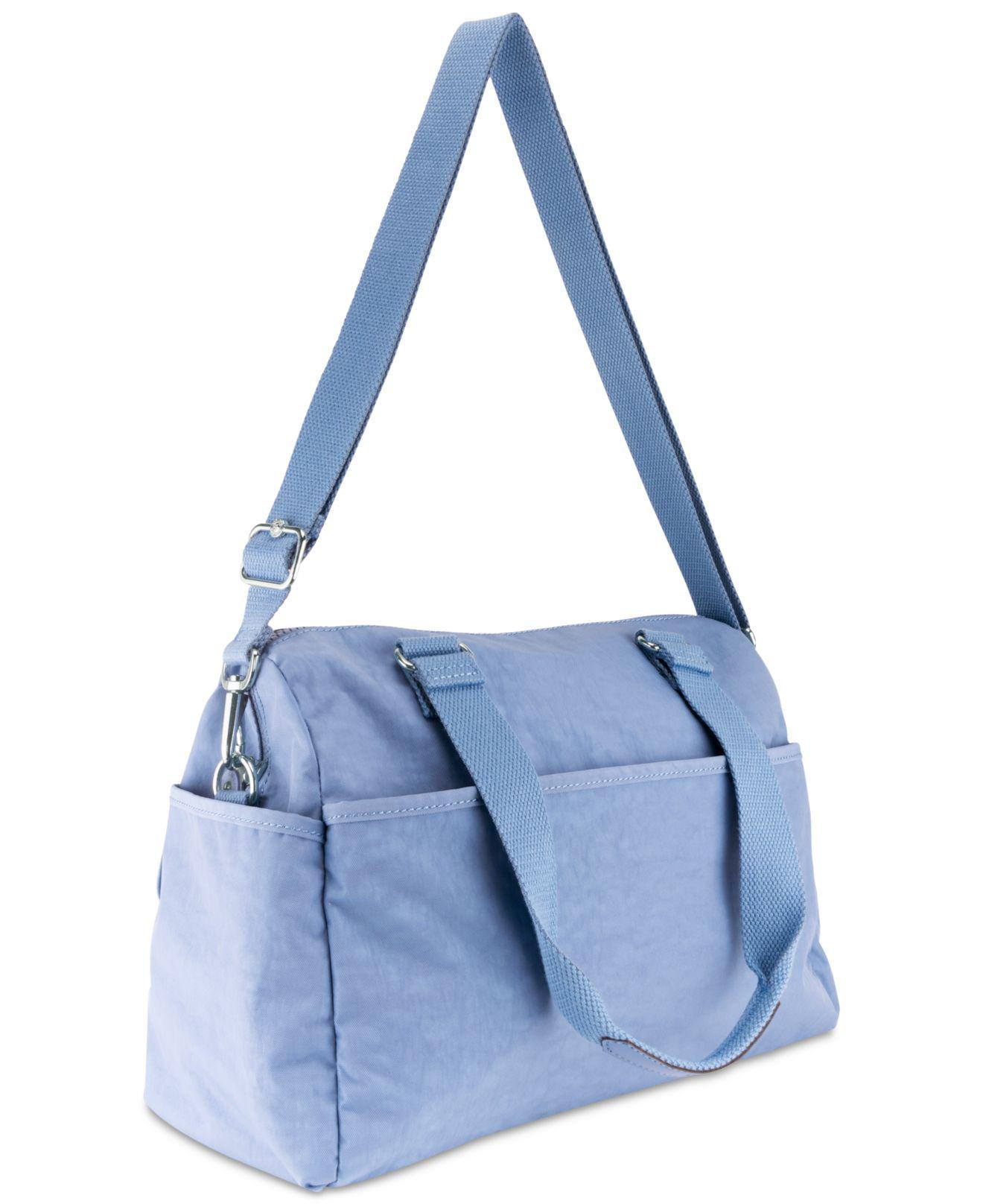 Lyst Kipling Mara Satchel In Blue