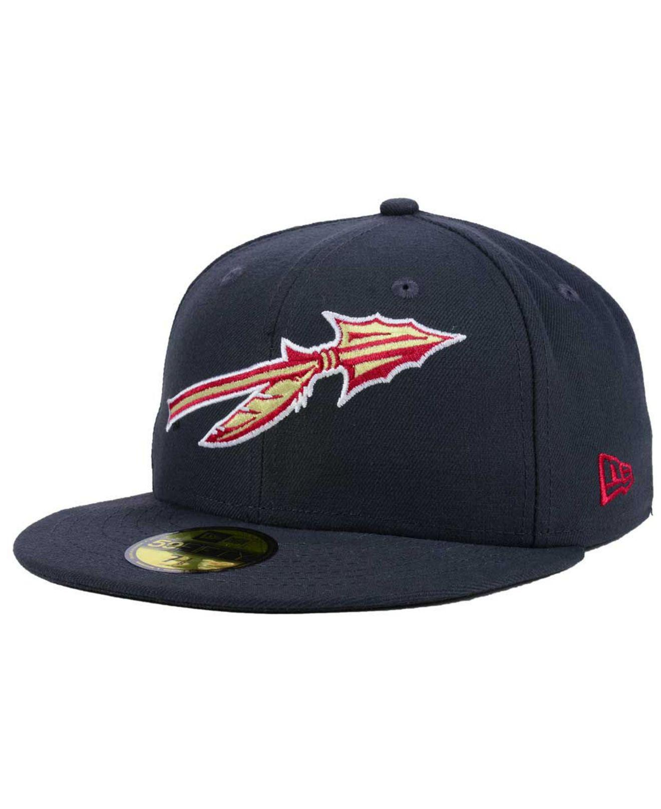 15aaea5ede4 Lyst - KTZ Florida State Seminoles Ac 59fifty Fitted Cap in Blue for Men