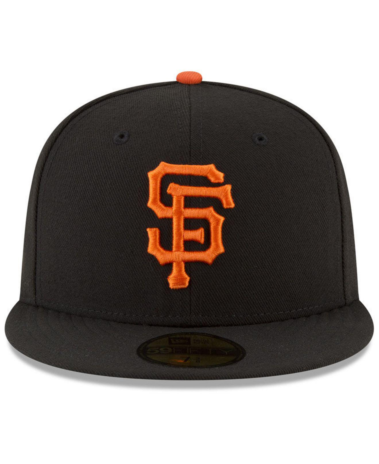 the best attitude 39af5 48cc9 Lyst - KTZ San Francisco Giants 150th Anniversary 59fifty-fitted Cap in  Black for Men