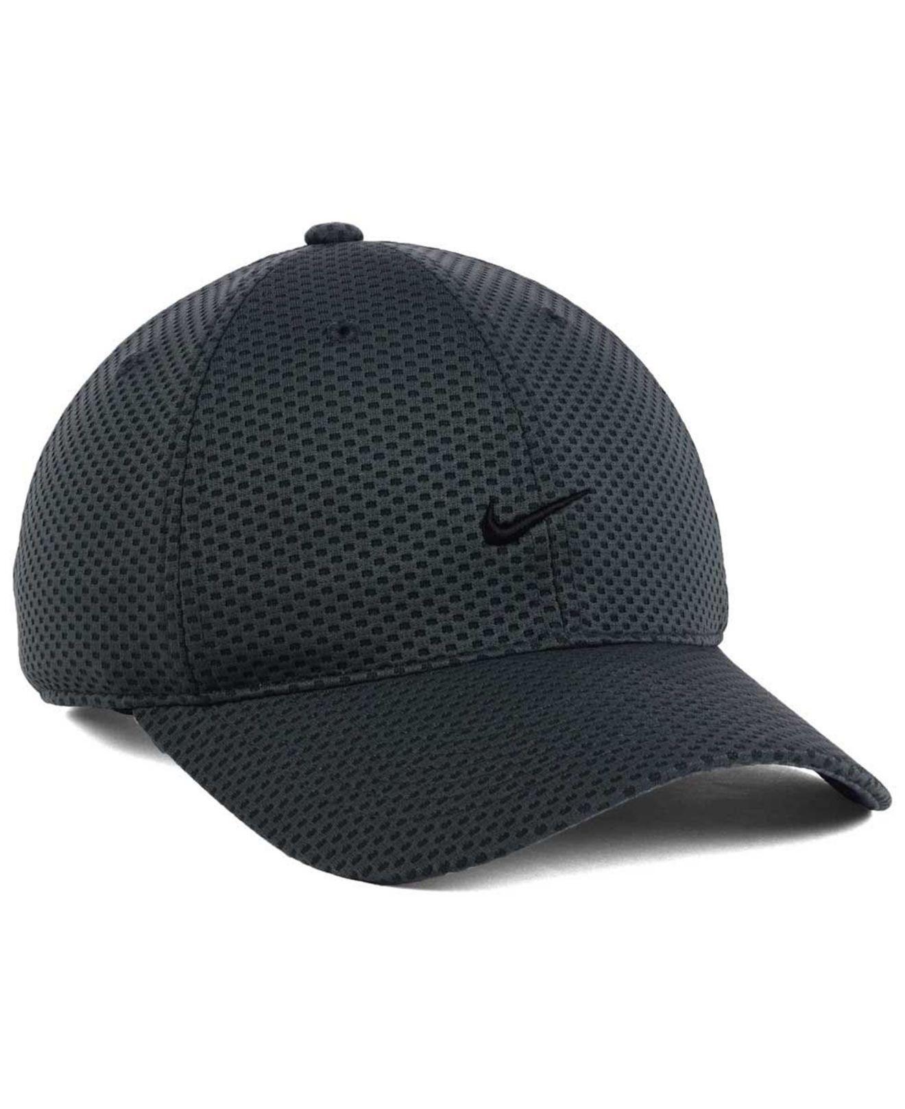 f0c59183cebbf Nike 6 Panel Tailwind Cap in Black for Men - Lyst
