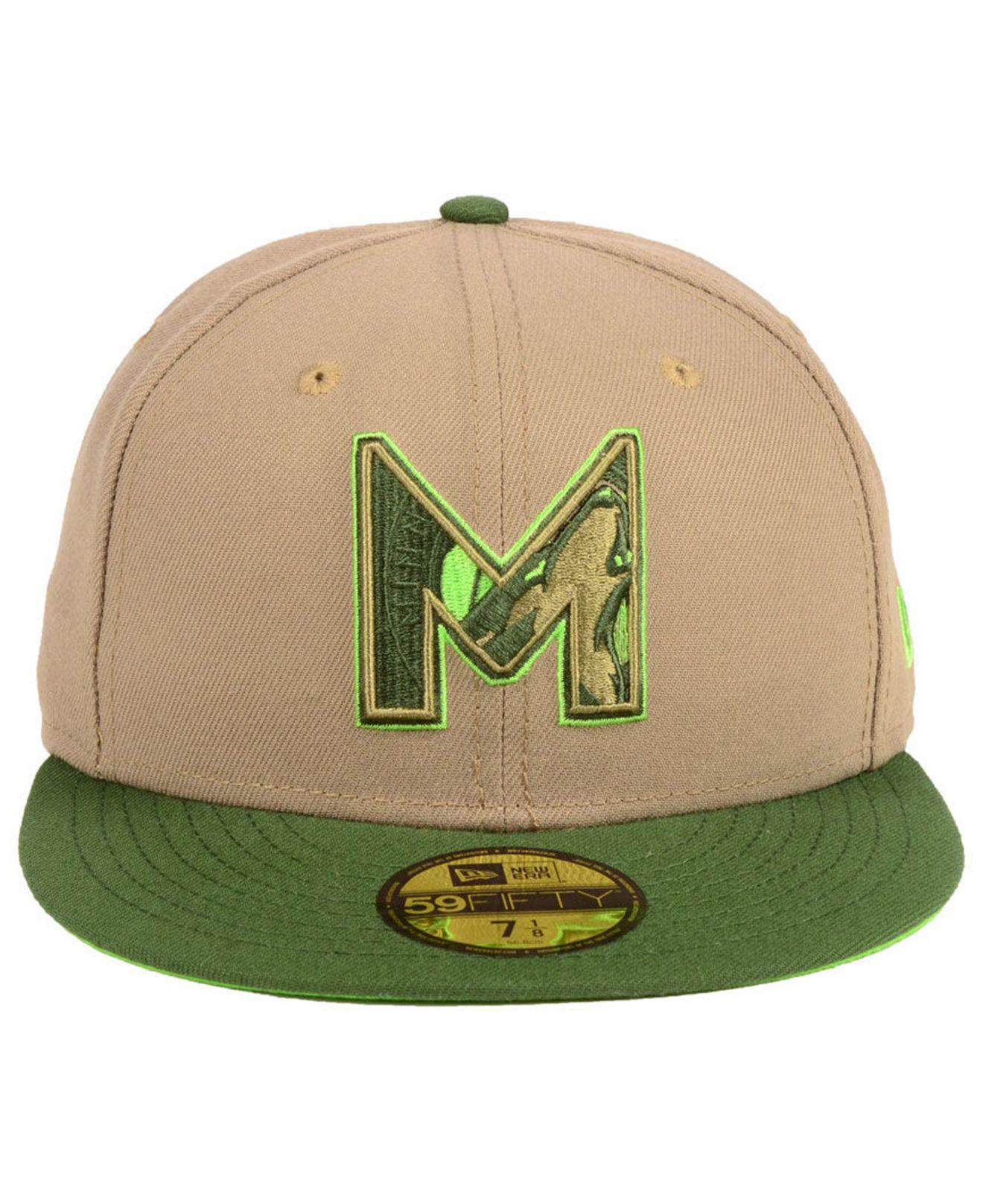 quality design 95ad3 a66c6 Lyst - KTZ Minnesota Timberwolves Fall 2 Tone Combo 59fifty-fitted Cap in  Green for Men