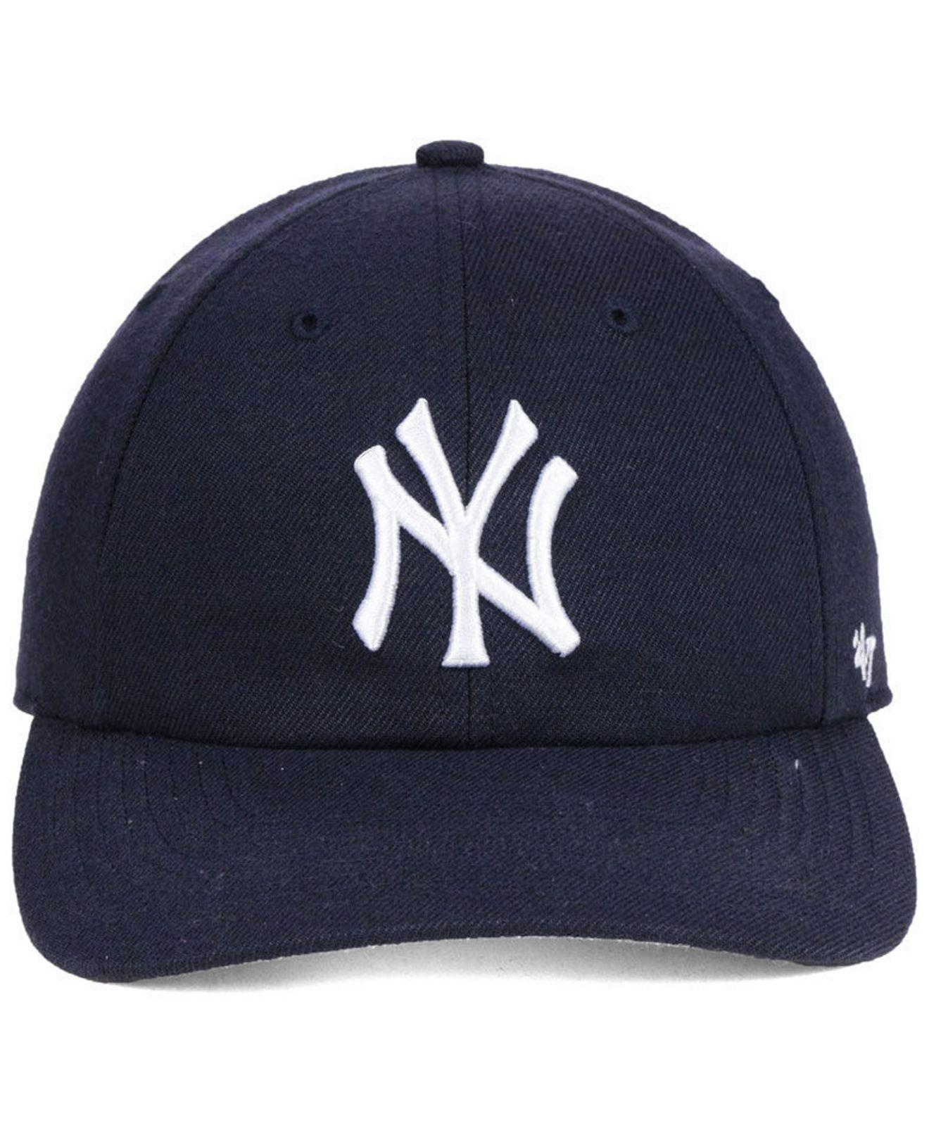 buy online 55c17 456e2 ... france lyst 47 brand new york yankees no shot clean up cap in blue for  men