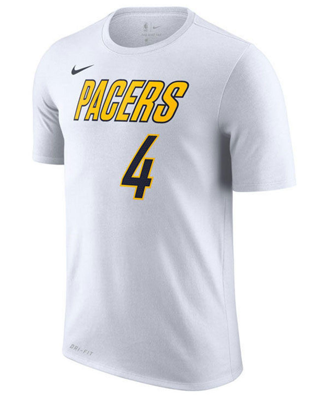 b38ccbba Tap to visit site. Nike - White Victor Oladipo Indiana Pacers Earned  Edition ...