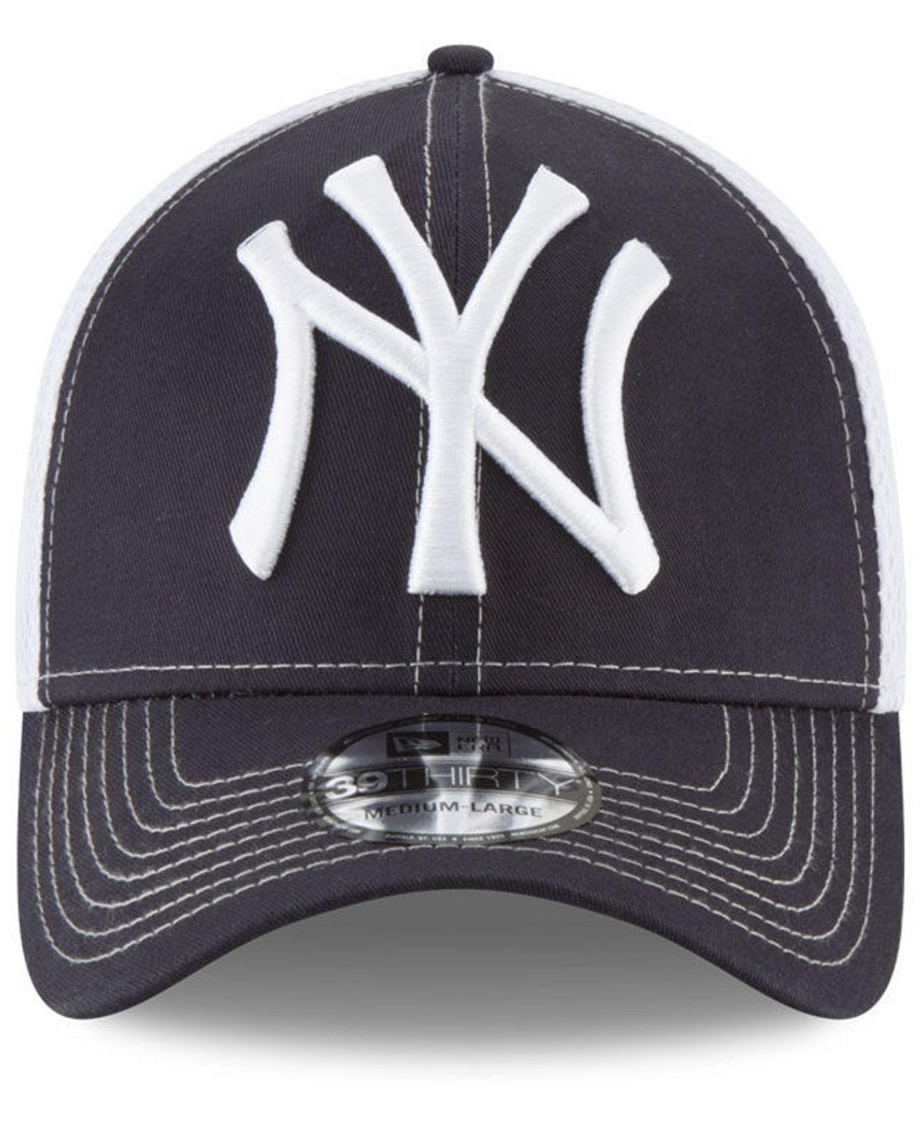 f79aef98 spain lyst ktz new york yankees mega team neo 39thirty cap in blue for men  9ad2d