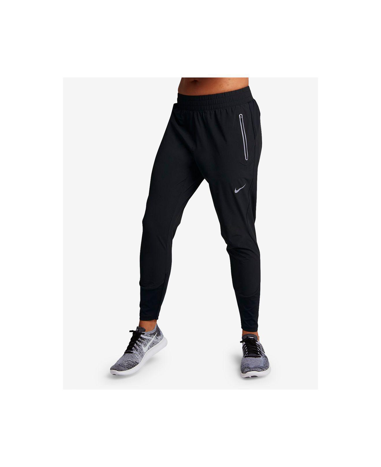24665c55a7f69 Nike Flex Swift Dri-fit Running Pants in Black - Lyst