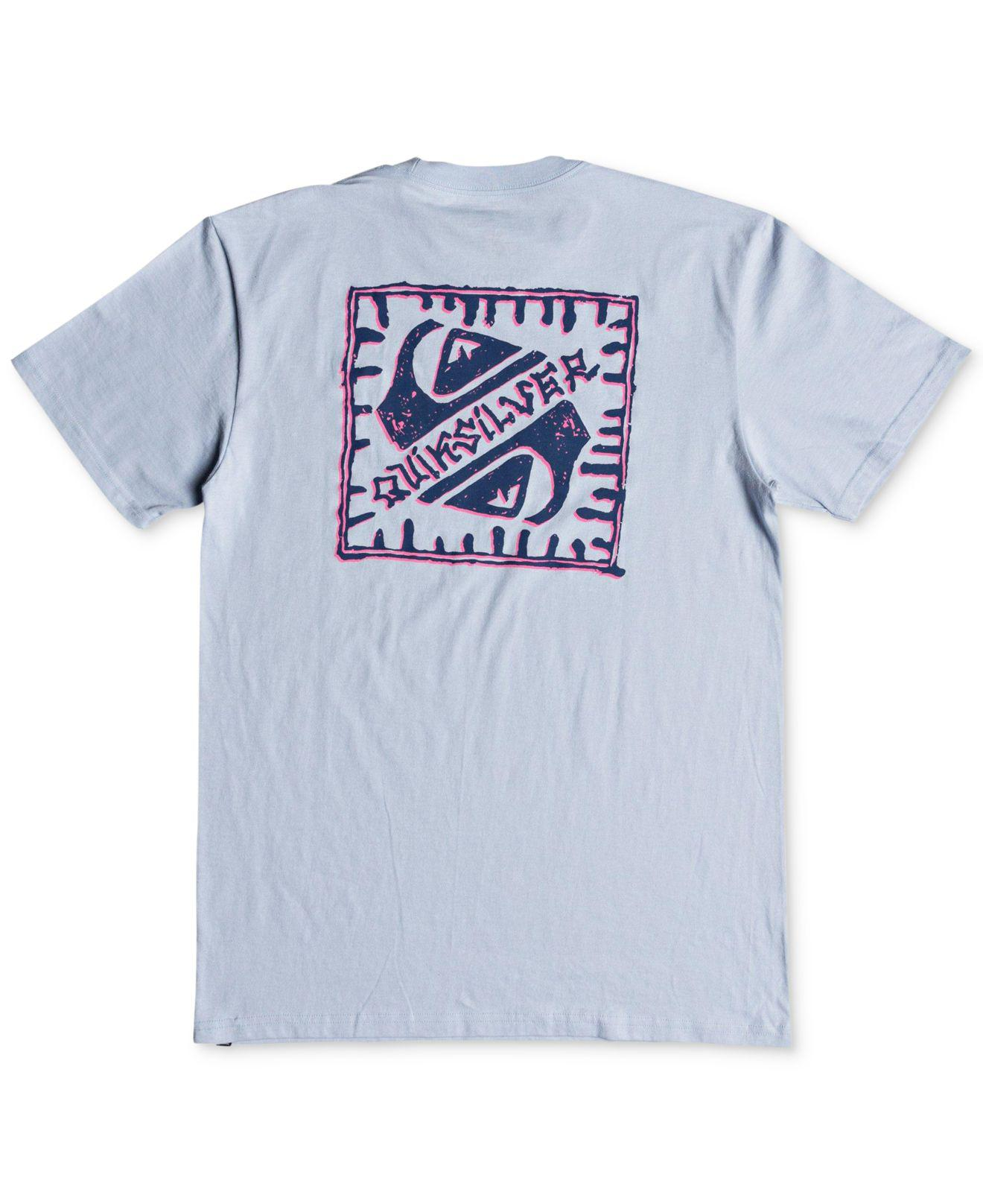 9bb92eaca814 Lyst - Quiksilver Saved By The Swell Graphic T-shirt in Blue for Men
