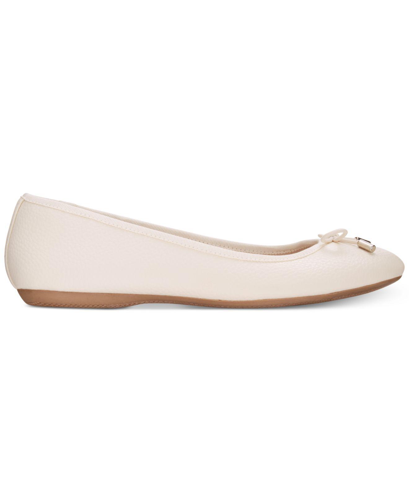 Alfani Women s Aleaa Ballet Flats - Save 64.42307692307692% - Lyst 96211ef44b8ab