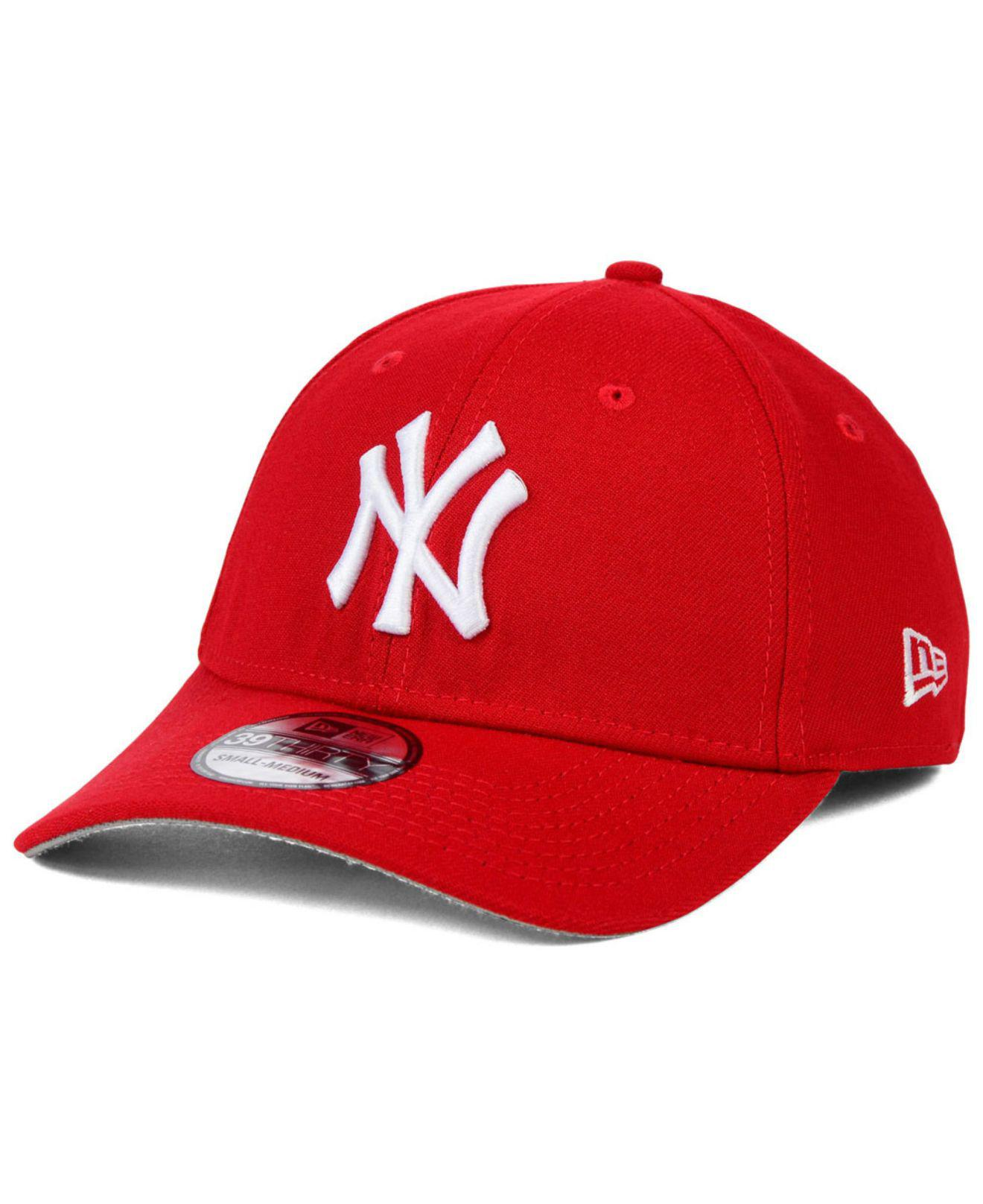 8b2c9488 Lyst - KTZ New York Yankees Fashion 39thirty Cap in Red for Men
