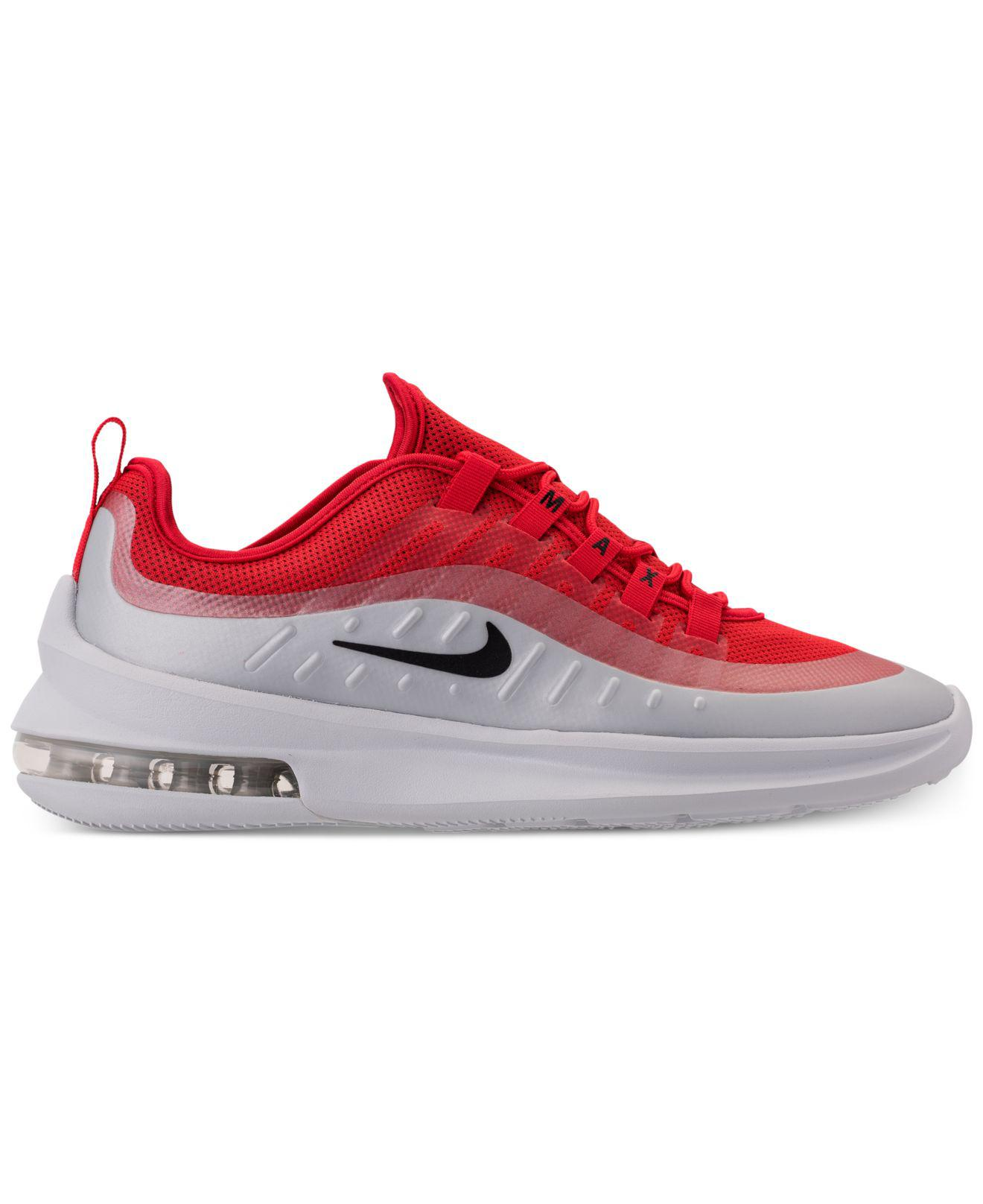 317c55512f13 Lyst - Nike Air Max Axis Casual Sneakers From Finish Line in Red