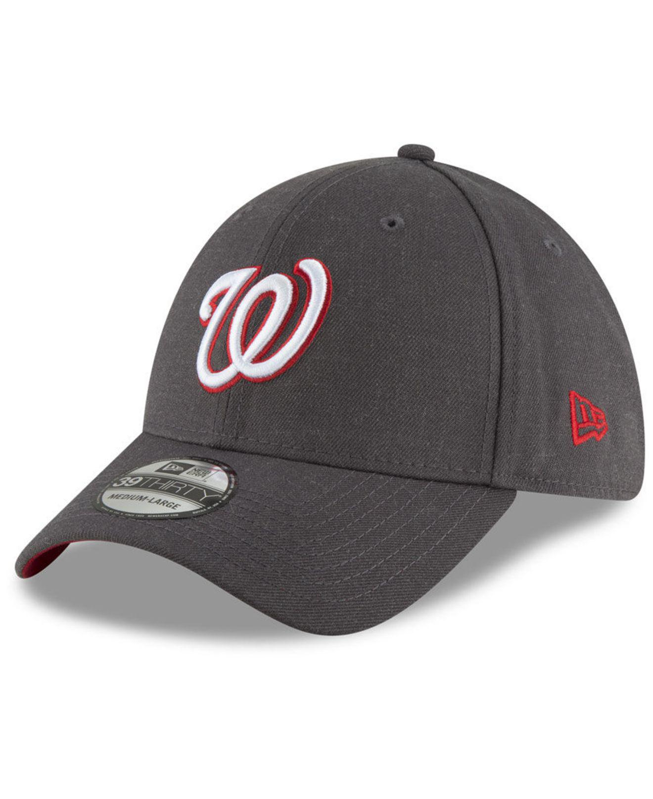 new arrival 59830 1276d KTZ. Men s Gray Washington Nationals Charcoal Classic 39thirty Cap