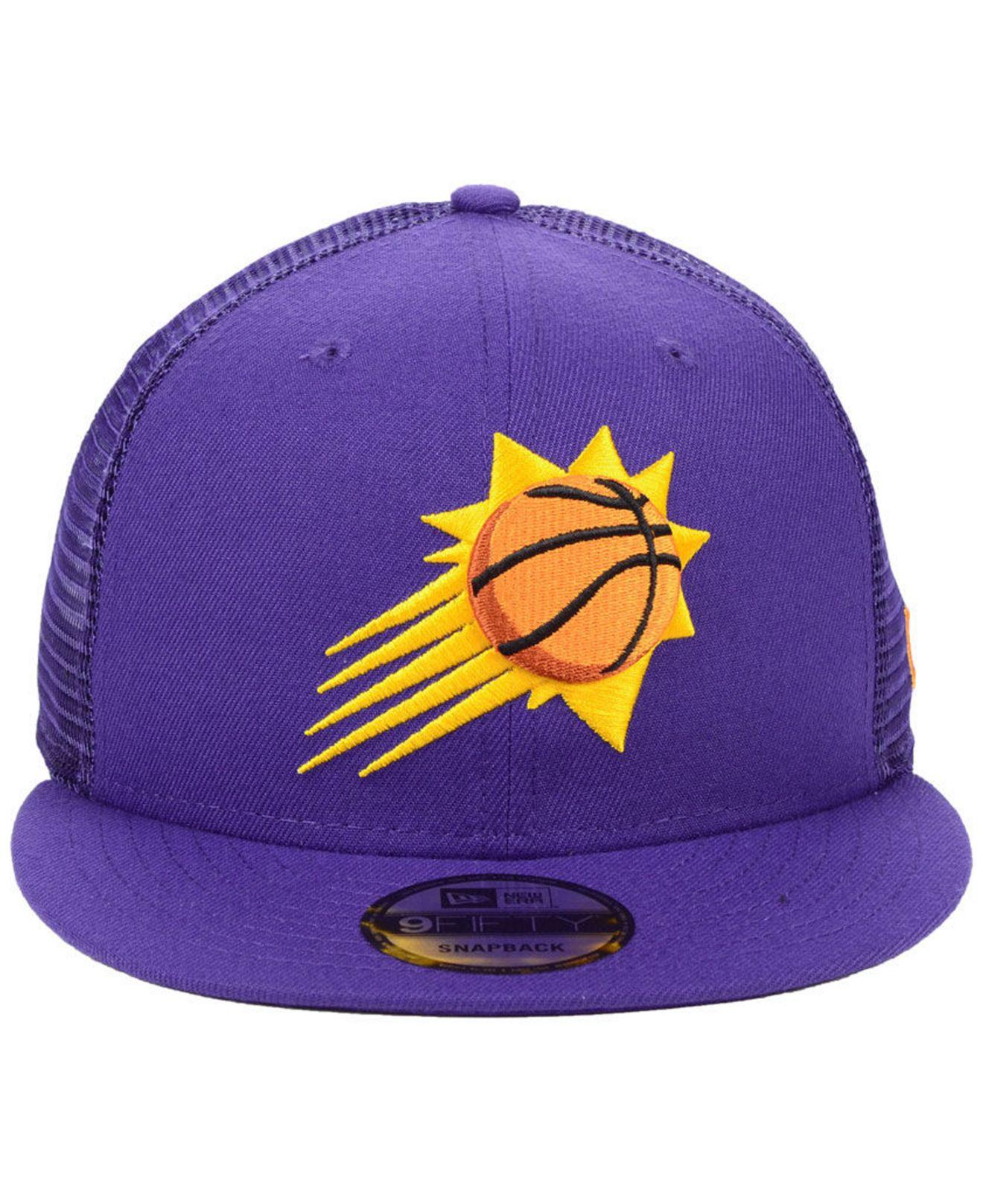 new arrival 0b2b2 88c43 Lyst - KTZ Phoenix Suns Nothing But Net 9fifty Snapback Cap in Purple for  Men - Save 14%