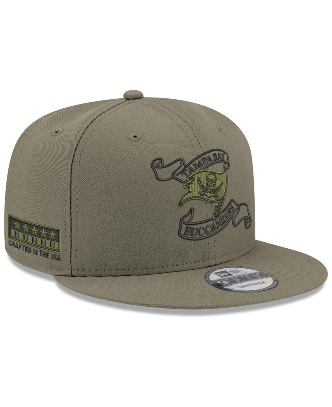 e3f66e6d9 KTZ. Men s Green Tampa Bay Buccaneers Crafted In The Usa 9fifty Snapback Cap