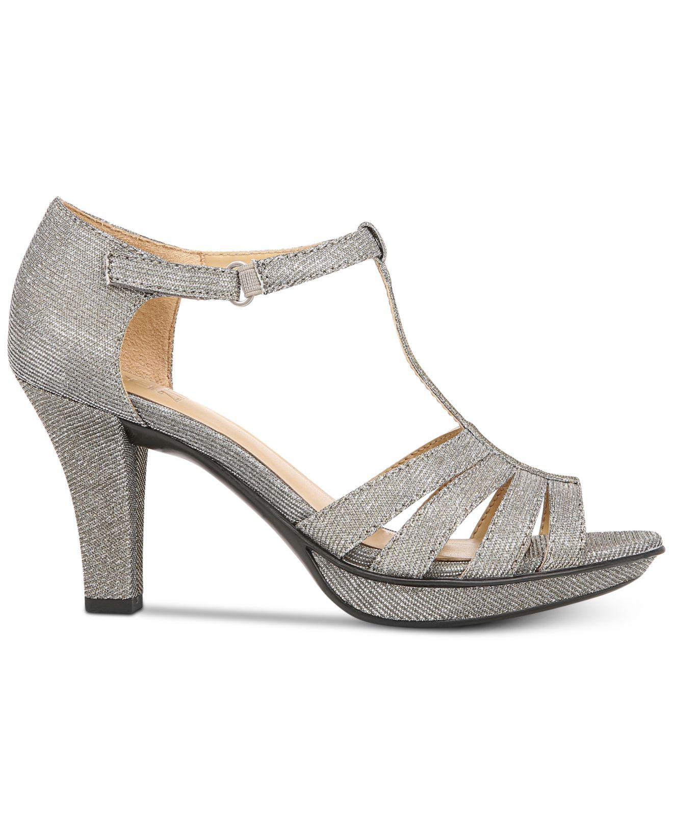 04a6479d67a Lyst - Naturalizer Delight Dress Sandals in Gray