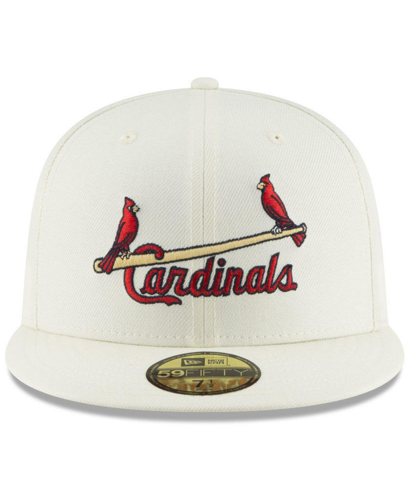 reputable site a7ef2 c1e39 Lyst - KTZ St. Louis Cardinals Vintage World Series Patch 59fifty Cap for  Men