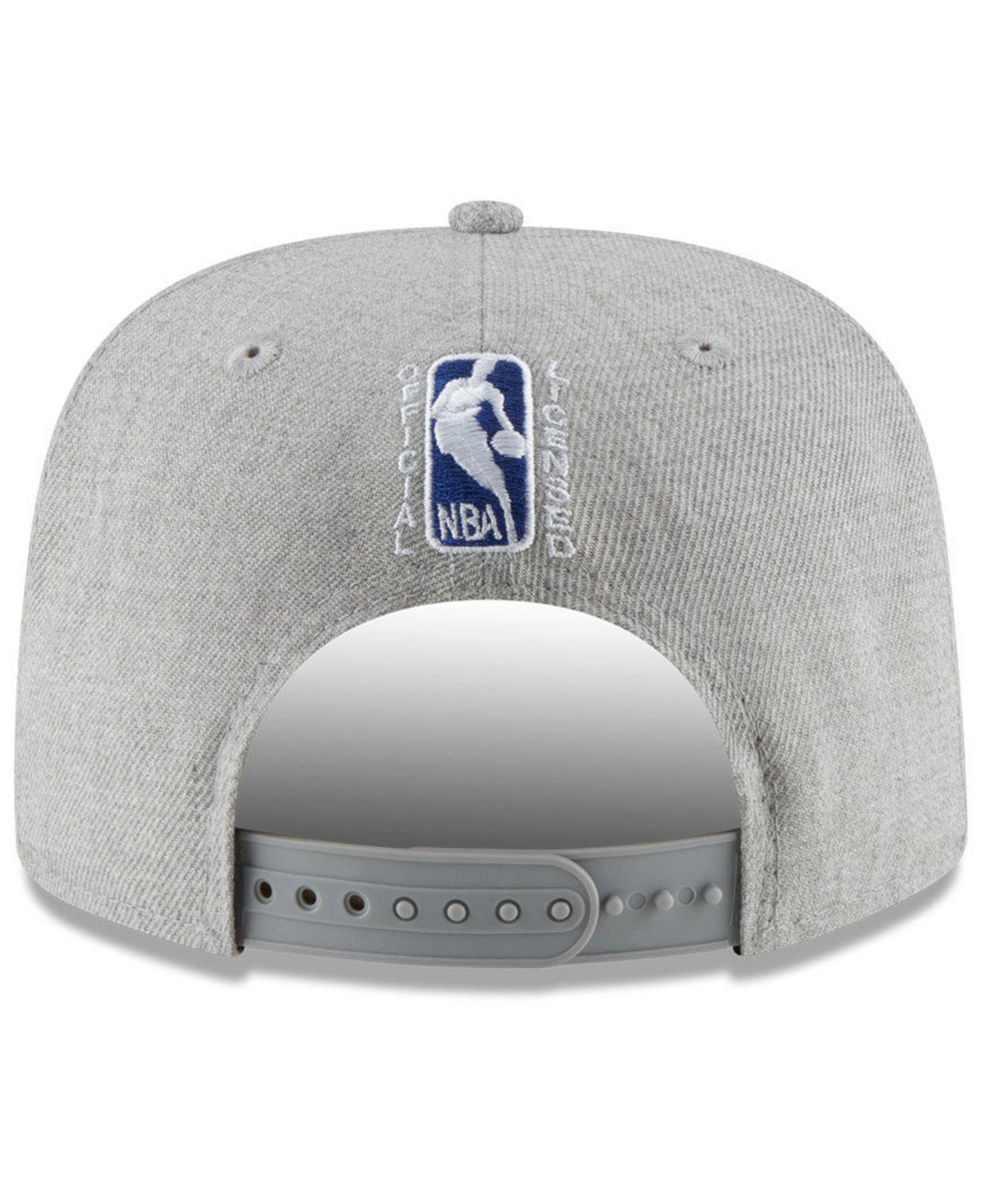 factory authentic 8f28c 00f3a ... germany los angeles clippers logo trace 9fifty snapback cap for men lyst.  view fullscreen 4e3ca