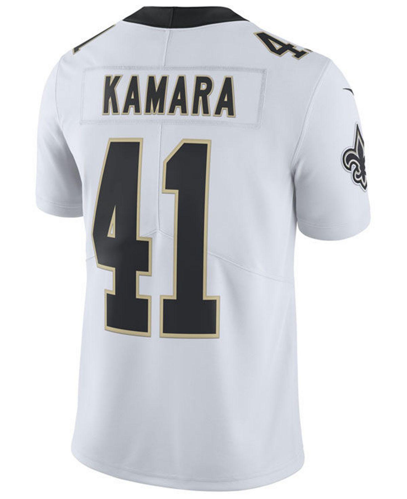 Lyst - Nike Alvin Kamara New Orleans Saints Vapor Untouchable Limited Jersey  in White for Men 3f0373082