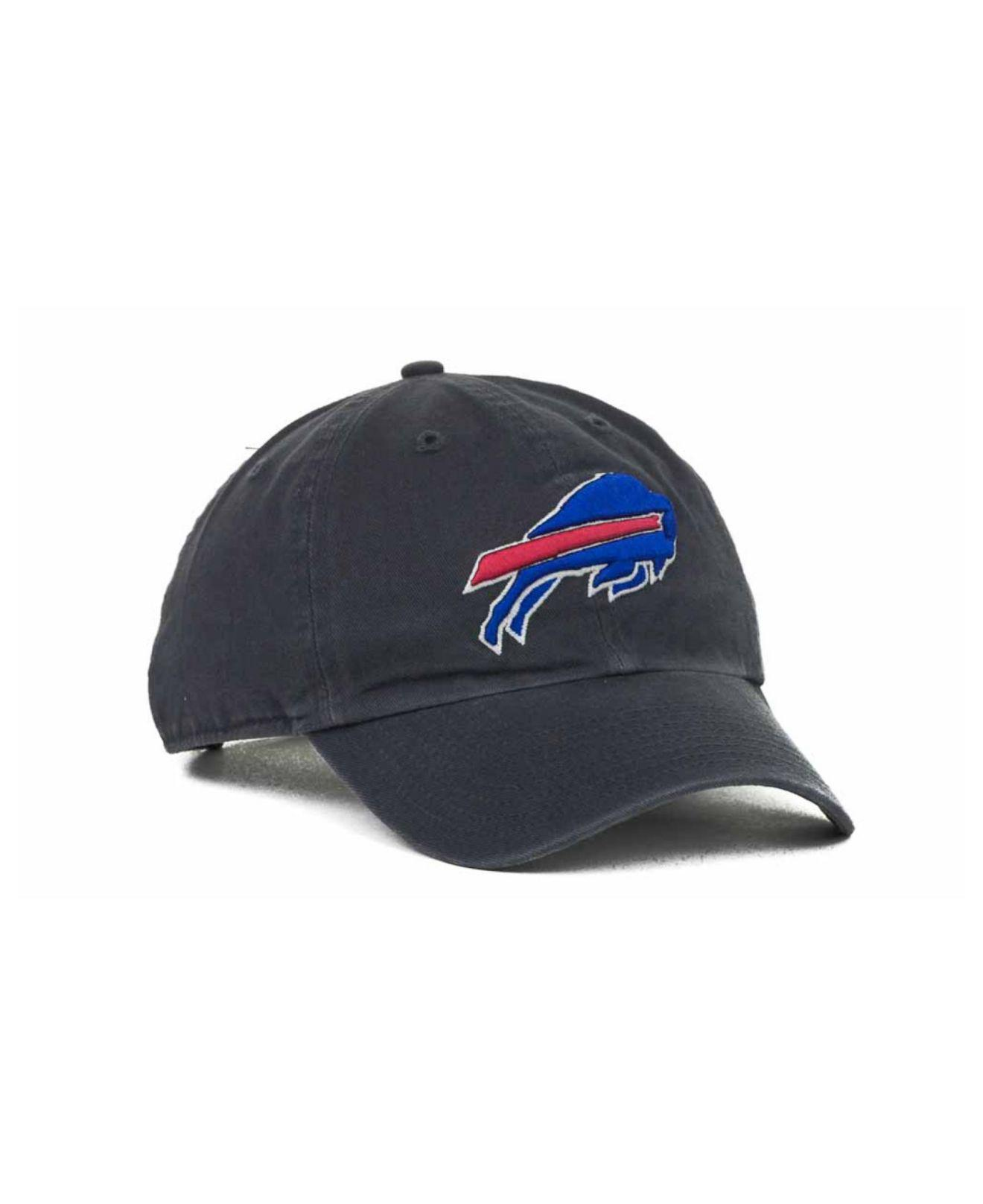 best service 420f8 8173f ... inexpensive lyst 47 brand buffalo bills clean up cap in blue for men  64316 47347