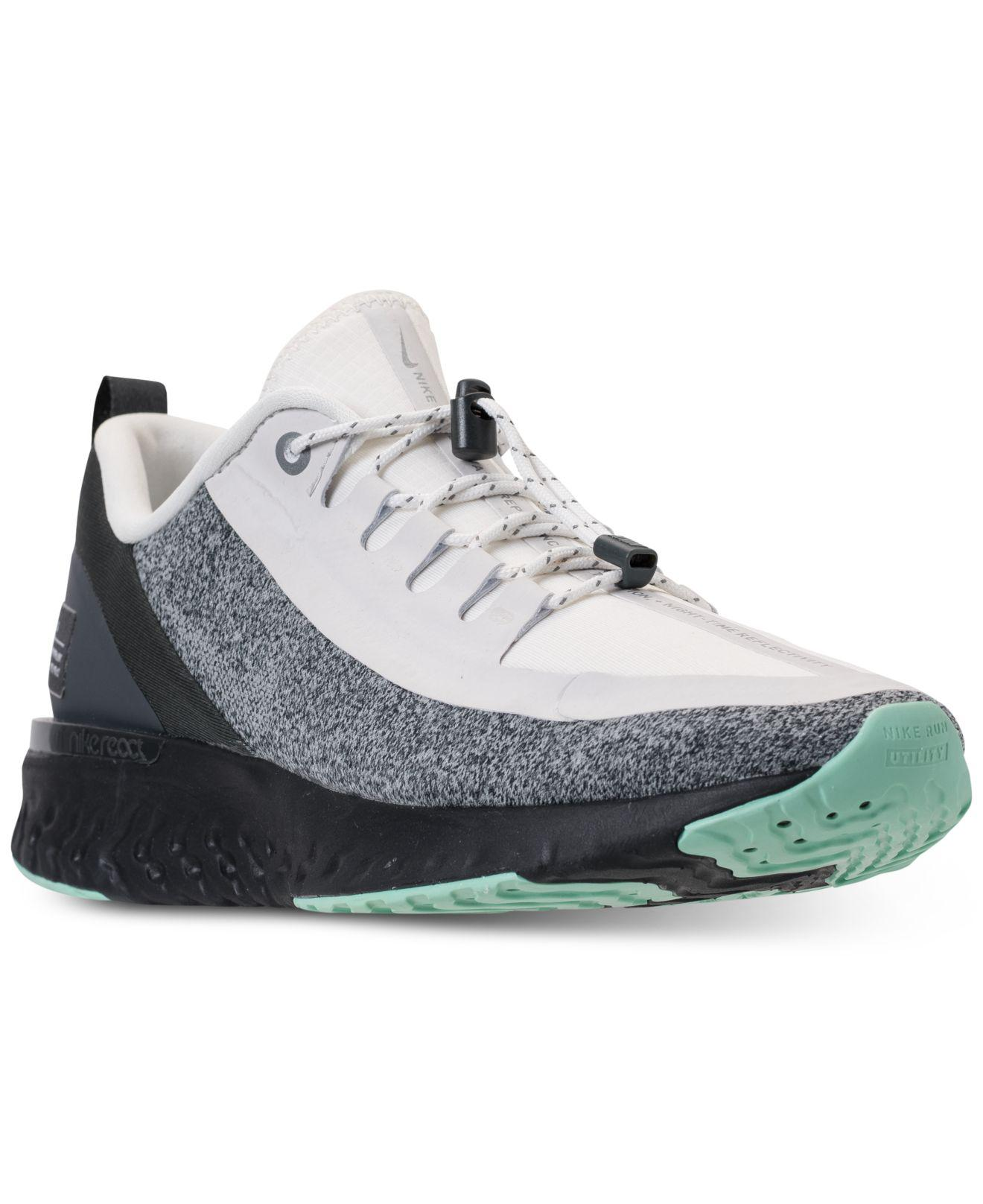 ac5199ce076 Nike - Multicolor Odyssey React Shield Running Sneakers From Finish Line -  Lyst. View fullscreen