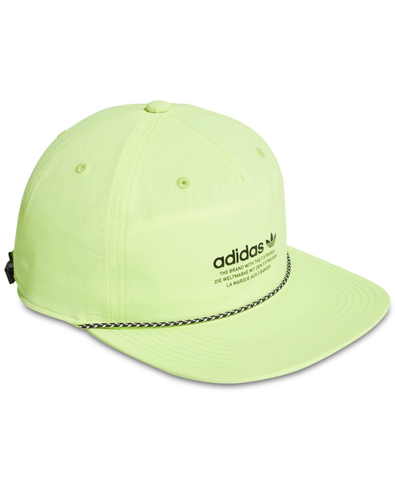 2f238502fdb45 Adidas - Yellow Originals Relaxed Logo Cap for Men - Lyst. View fullscreen