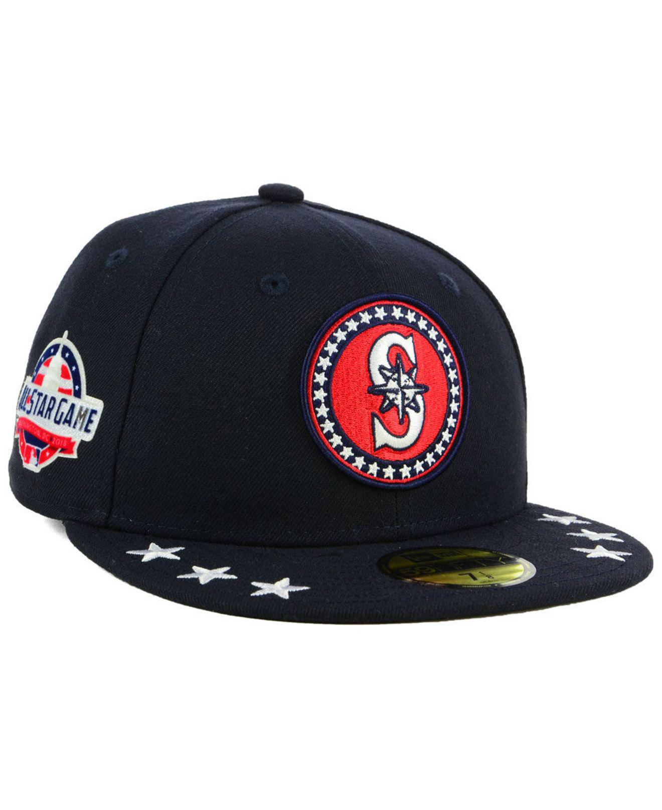 new concept f5092 7ca4b ... game patch 59fifty cap e589d 4fb4c  purchase ktz. mens blue seattle  mariners all star workout 59fifty fitted cap 28f89 53633