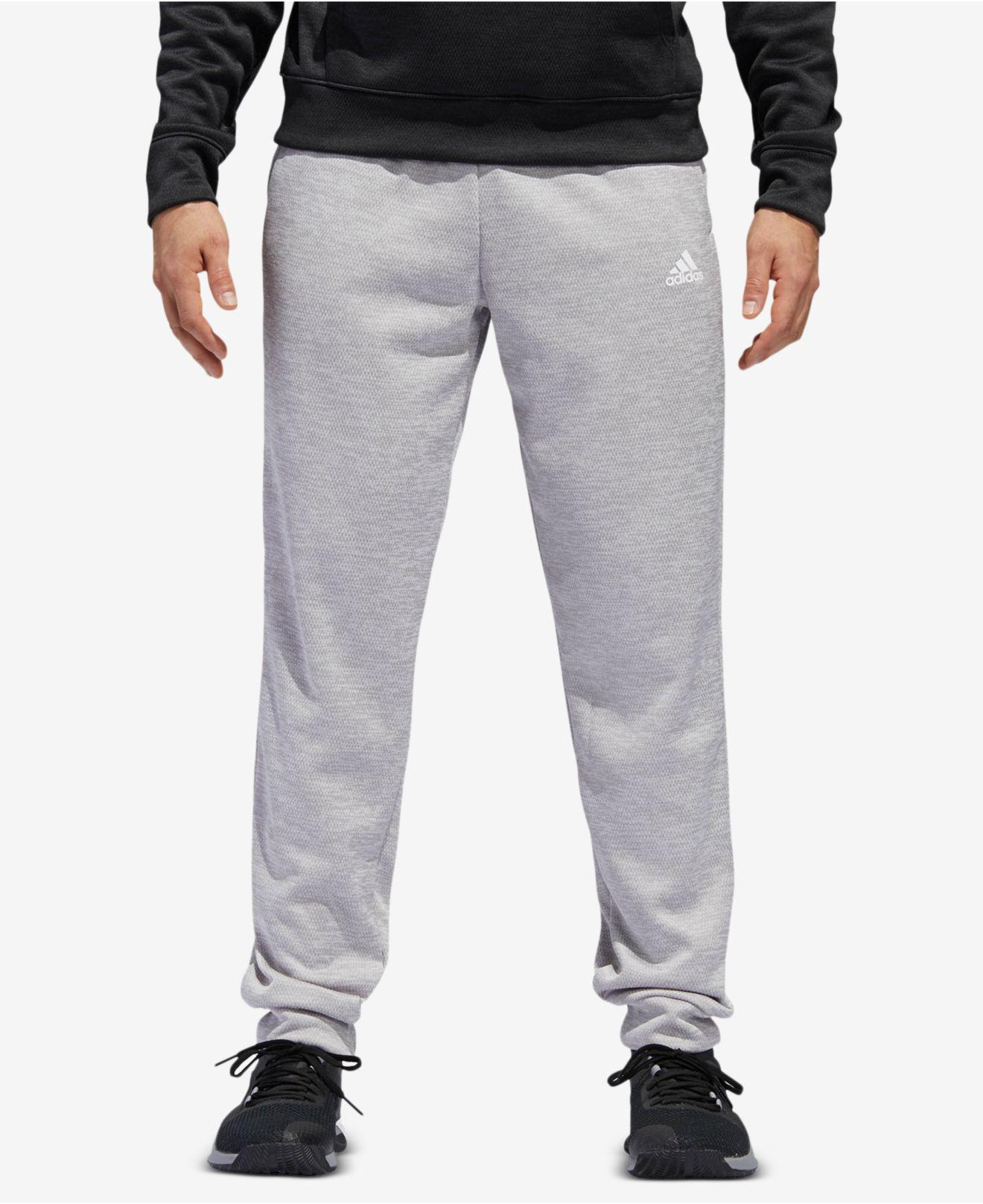 ed2cb4a91 Lyst - adidas Team Issue Fleece Joggers in Gray for Men