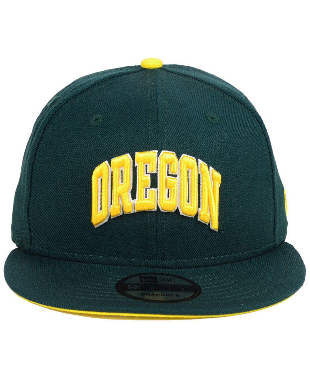 promo code ec4b4 29afd ... promo code for lyst ktz oregon ducks core 9fifty snapback cap in green  for men bc901