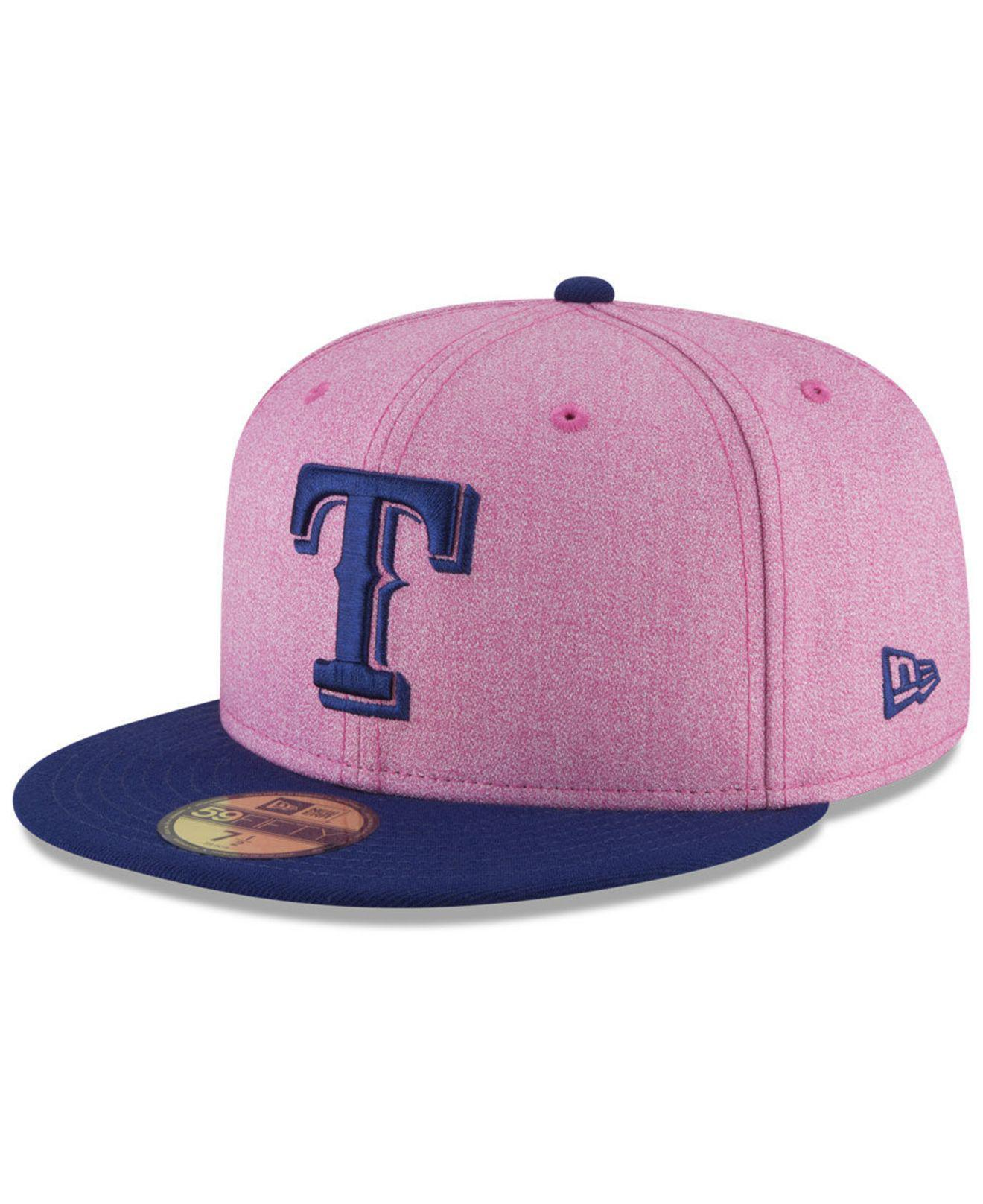 reputable site 17466 02156 ... sweden ktz. mens pink texas rangers mothers day 59fifty fitted cap  c70c7 99393